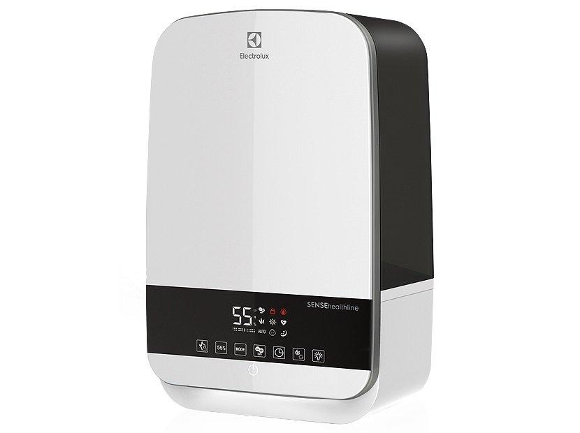 Увлажнитель воздуха Electrolux EHU - 3315D БелыйУльтразвуковые<br>Ультразвуковой увлажнитель ElectroLux (Электролюкс) EHU - 3315D Белый совмещает в себе характеристики мощного устройства с высоким уровнем производительности и длительным ресурсом работы, выполняет не только функцию увлажнения и ионизации, но и очищения воздуха от грязных примесей, мелкой пыли и шерсти животных (это значительно продлевает срок службы).<br>Особенности и преимущества увлажнителя воздуха Electrolux представленной модели:<br><br>Ультразвуковой принцип увлажнения.<br>Сенсорное управление.<br>Отключаемая подсветка.<br>Ультрафиолетовая лампа.<br>Ионизация.<br>Цифровой термометр.<br>Встроенные гигростат и гигрометр.<br>Блокировка кнопок ( замок от детей ).<br>Деминерализующий фильтр-картридж.<br>Отключение при низком уровне воды.<br>Фильтр предварительной очистки.<br>Низкий уровень шума.<br>Детский режим BABY.<br>Иммуностимулирующий режим HEALTH SMART.<br>Ночной режим NIGHT SMART.<br>Теплый / холодный пар.<br>Таймер, пульт ДУ.<br><br><br>Торговая марка Electrolux   один из мировых лидеров на рынке бытовой техники. Это вполне оправдано: оборудование под этим шведским брендом сочетает широкие функциональные возможности, интересное дизайнерское решение, качественное исполнение и демократичную цену. Увлажнители воздуха с ультразвуковой мембраной не стали исключением. Устройства эффективно справляются со своей задачей, просты и удобны, безопасны и долговечны. Топовые специалисты компании работали над этими агрегатами, снабдив их первоклассными комплектующими, понятным управлением и эргономичной конструкцией. Ультразвуковые увлажнители воздуха Electrolux в интернет-магазине mircli.ru представлены в очень широком ассортименте. На страниц ах нашего каталога посетители найдут множеством разнообразных моделей: для детских комнат, для спален, офисов и магазинов.<br><br>Страна: Швеция<br>Производитель: Корея<br>Площадь, м?: 45<br>Площадь по очистке, м?: 45<br>Обьем бака, л: 5,5<br>Колво режимов работы: 3
