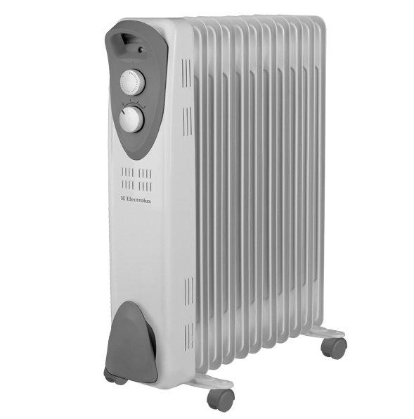 Масляный радиатор Electrolux EOH/M-32212.0 кВт<br>Мощный масляный радиатор ElectroLux (Электролюкс) EOH/M-3221 характеризуется повышенным ресурсом работы. Это было достигнуто за счет усовершенствования конструкции, оснащения его датчиками защиты. Прибор быстро выходит на нужную температуру, обеспечивая оперативный обогрев комнаты. При работе не создается посторонних шумов и каких-либо запахов. Радиатор полностью экологичен благодаря использованию тщательно очищенного минерального масла.<br><br><br><br><br>Особенности и преимущества масляных радиаторов Electrolux серии EOH/M   3:<br><br>Три режима обогрева<br>Высоконадежный механический термостат<br>Простое эргономичное управление<br>Место для хранения шнура питания<br>Ручка для удобства передвижения<br>Ролики для перемещения<br>Уникальный дизайн<br>Высокая экологичность   в качестве наполнителя используется экологичное масло HD-300, проходящее многоступенчатую систему очистки<br>Защита от опрокидывания   встроенный датчик отключит масляный радиатор при отклонении включенного прибора от рабочего состояния или его опрокидывании<br>Защита от перегрева   встроенный датчик отключит прибор в случае перегрева<br><br><br><br> <br><br><br> <br>Режимы работы:<br><br>Мощность обогрева 1000Вт<br>Мощность обогрева 1200Вт<br>Мощность обогрева 2200Вт<br><br> <br> <br><br><br><br><br>Маслонаполненные радиаторы EOH/M  3 от торговой марки Electrolux придутся по вкусу приверженцам минимализма. В их облике нет ничего лишнего: только четкость линий корпуса, нейтральная цветовая гамма, функциональные детали. Ассортимент семейства представлен моделями с пятью, семью, девятью и одиннадцатью секциями   для помещений жилого, коммерческого и административного типа площадью до двадцати пяти квадратных метров. Приобретая масляные радиаторы Electrolux, вы становитесь обладателем надежных и эффективных приборов, с официальной гарантией и инструкцией на русском языке.<br><br>Страна: Швеция<br>Мощность, Вт: 2200<br>Площадь, м?: 28<br>Колво секций: 