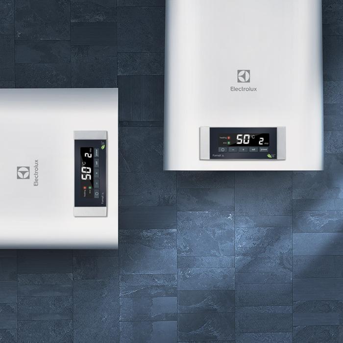 Водонагреватель Electrolux EWH 50 Formax DL50 литров<br>Настенный накопительныйэлектрический&amp;nbsp;&amp;nbsp;EWH 50&amp;nbsp;Formax&amp;nbsp;DL&amp;nbsp;от известного европейского производителя Electrolux&amp;nbsp;(Швеция) хороший для квартиры. Прибор оснащен электронным управлением, имеет три ступени мощности. Точность нагрева, до 1 градуса, порадует любого пользователя.&amp;nbsp;Электронное управление основано на технологии &amp;laquo;Multi memory&amp;raquo;,&amp;nbsp;которая позволяет запоминать до 3 значений температур.<br><br>Страна: Швеция<br>Производитель: Китай<br>Способ нагрева: Электрический<br>Нагревательный элемент: Керамический<br>Объем, л: 50<br>Темп. нагрева, С: 75<br>Мощность, кВт: 2,0<br>Напряжение сети, В: 220 В<br>Плоский бак: Да<br>Узкий бак Slim: Нет<br>Магниевый анод: Да<br>Колво ТЭНов: 2<br>Дисплей: Да<br>Сухой ТЭН: Да<br>Защита от перегрева: Есть<br>Покрытие бака: Эмаль<br>Тип установки: Вертикальная/Горизонтальная<br>Подводка: Нижняя<br>Управление: Электронное<br>Размеры ШхВхГ, см: 35х82,5х34,4<br>Вес, кг: 24<br>Гарантия: 7 лет<br>Ширина мм: 350<br>Высота мм: 825<br>Глубина мм: 344