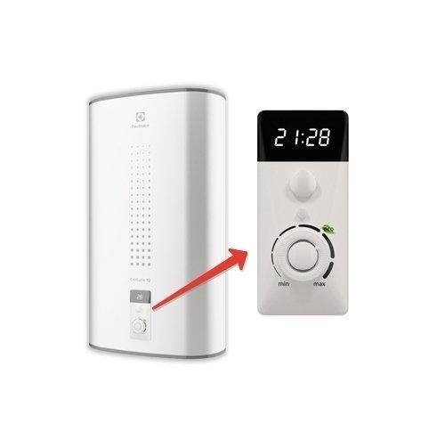 Электрический накопительный водонагреватель Electrolux EWH 80 Centurio IQ 2.080 литров<br>Водонагреватель Electrolux (Электролюкс)  EWH 80 Centurio IQ 2.0 может быть установлен в удобном для пользователя положении, поэтому отличается универсальностью. Устройство быстро перепрограммировать, ведь управление производится дистанционно, прямо с мобильного телефона. Корпус оборудования изготовлен из нержавеющей стали, которая устойчива к агрессивным воздействиям из внешней среды.<br>Особенности и преимущества водонагревателей серии Centurio IQ 2.0:<br><br>Внутренний бак из нержавеющей стали.<br>Плоская форма корпуса.<br>Материал внешнего корпуса - полированная сталь.<br>Встроенное УЗО.<br>Универсальный монтаж.<br>Таймер реального времени.<br>USB для WIFI.<br>Сухие ТЭНЫ<br>LED-дисплей.<br>Режим половинной мощности и функция быстрого нагрева.<br>Экономичный режим, защита от накипи, обеззараживание воды.<br>Многоступенчатая система безопасности.<br><br>Centurio IQ 2.0 от Electrolux   это новейшая линейка водонагревательного оборудования от популярного шведского бренда. Модели серии отличаются высоким комфортном в эксплуатации. Помимо системы электронного управления предусмотрена система удаленного управления работой при помощи специального мобильного приложения. Водонагреватели оборудованы  сухими  нагревательными элементами, благодаря чему совершенно не подвержены образованию коррозии.<br> <br><br>Страна: Швеция<br>Производитель: Россия<br>Способ нагрева: Электрический<br>Нагревательный элемент: Трубчатый<br>Объем, л: 80<br>Темп. нагрева, С: 75<br>Мощность, кВт: 2,0<br>Напряжение сети, В: 220 В<br>Плоский бак: Да<br>Узкий бак Slim: Нет<br>Магниевый анод: Нет<br>Колво ТЭНов: 2<br>Дисплей: Да<br>Сухой ТЭН: Да<br>Защита от перегрева: Да<br>Покрытие бака: Нерж. сталь<br>Тип установки: Вертикальная/Горизонтальная<br>Подводка: Нижняя<br>Управление: Электронное<br>Размеры ШхВхГ, см: 86,5х55,7х33,6<br>Вес, кг: 20<br>Гарантия: 8 лет<br>Ширина мм: 865<br>Высота мм: 557<br>Глубина мм: