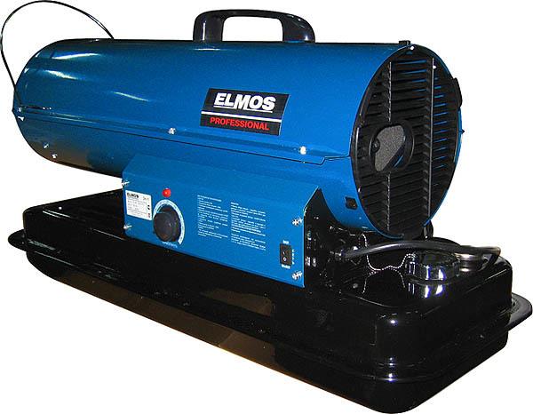 Тепловая пушка Elmos DH-11Дизельные пушки<br>Elmos (Элмос) DH-11   это современная тепловая пушка на дизельном топливе, осуществляющая работу на дизельном топливе или керосине. Данная тепловая пушка на дизельном топливе предназначена для обогрева нежилых помещений. Корпус изделия и камера сгорания выполнены из стали высокого качества. Внешняя часть корпуса оснащена износоустойчивым покрытием. Двигатель модели заключен в теплоизолированный кожух.<br><br>Страна: Корея<br>Производитель: Китай<br>Мощность, кВт: 12.0<br>Тип: Дизельный<br>Площадь, м?: 120<br>Скорость потока м/с: None<br>Расход топлива, кг/час: 1<br>Расход воздуха, мsup3;/ч: 240<br>Нагревательный элемент: Нет<br>Вместимость бака, л: 15<br>Регулировка температуры: Есть<br>Вентиляция без нагрева: Нет<br>Настенный монтаж: Нет<br>Влагозащитный корпус: Нет<br>Тип топлива: Дизель, керосин<br>Напряжение, В: 220 В<br>Вилка: В комплекте<br>Размеры ВхШхГ, см: None<br>Вес, кг: 17<br>Гарантия: 1 год