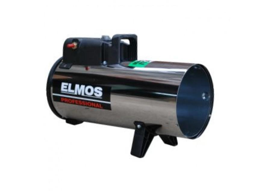 Газовая промышленная пушка Elmos GH-12Газовые пушки<br>Газовая промышленная пушка для обогрева помещений от достойной производственной компании Elmos (Элмос) GH-12   это надежное оборудование, которое может стать дополнительным или основным источником тепла на открытых площадках, строительных объектах или внутри производственных сооружений. В данной модели воспламенение происходит с помощью пьезоэлемента, а производительность составляет значение 420 м3/ч.Газовые промышленные пушки GH используют в качестве топлива газ   наиболее доступный и экономичный для современного потребителя источник энергии. <br><br>Страна: Корея<br>Производитель: Китай<br>Тип: Газовый<br>Мощность, кВт: 12.0<br>Площадь, м?: 120<br>Скорость потока м/с: None<br>Расход топлива, кг/час: 1.07<br>Расход воздуха, мsup3;/ч: 420<br>Нагревательный элемент: Нет<br>Вместимость бака, л: None<br>Регулировка температуры: Есть<br>Вентиляция без нагрева: Нет<br>Настенный монтаж: Нет<br>Влагозащитный корпус: Нет<br>Напряжение, В: 220 В<br>Вилка: В комплекте<br>Размеры ВхШхГ, см: 36.7x18x28<br>Вес, кг: 5<br>Гарантия: 1 год