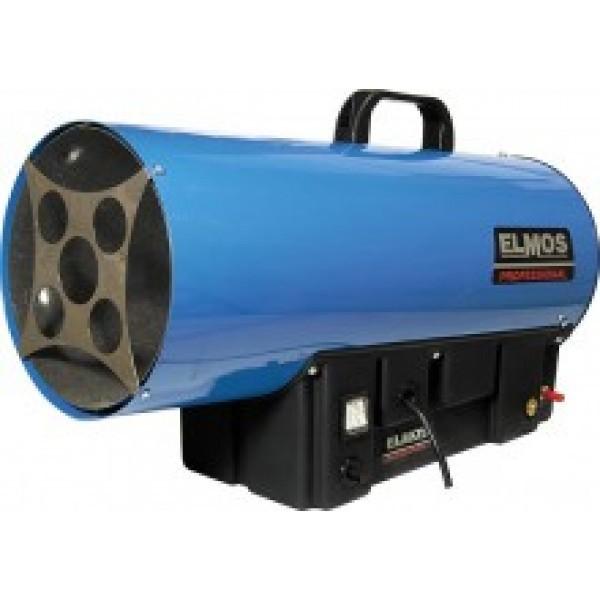Газовая тепловая пушка Elmos GH-15Газовые пушки<br>Elmos (Элмос) GH-15   это современная газовая тепловая пушка для помещений, которая представляет собой достойное решение для организации и поддержания необходимых температурных значений воздуха на различных строительных или коммерческих объектах. Представленная пушка на газе помимо возможности регулировать тепловую мощность, оснащена термореле для защиты от перегрева.<br><br>Страна: Корея<br>Производитель: Китай<br>Тип: Газовый<br>Мощность, кВт: 11.018.0<br>Площадь, м?: 110180<br>Скорость потока м/с: None<br>Расход топлива, кг/час: 0.30.7<br>Расход воздуха, мsup3;/ч: 520<br>Нагревательный элемент: Нет<br>Вместимость бака, л: None<br>Регулировка температуры: Есть<br>Вентиляция без нагрева: Нет<br>Настенный монтаж: Нет<br>Влагозащитный корпус: Нет<br>Напряжение, В: 220 В<br>Вилка: В комплекте<br>Размеры ВхШхГ, см: 42.5x18x28<br>Вес, кг: 6<br>Гарантия: 1 год