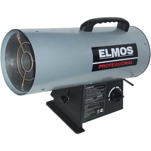 Тепловая пушка Elmos GH-29Газовые пушки<br>Тепловая пушка с износостойким наружным покрытием корпуса Elmos (Элмос) GH-29&amp;nbsp;работает на газовом топливе, которое является наиболее дешевым и доступным для современного потребителя источником энергии. Рассматриваемая модель представляет собой воздушно-нагревательный прибор, который может использоваться на строительных или коммерческих объектах как основной или дополнительный источник тепла.<br>Особенности и преимущества рассматриваемой модели тепловой пушки Elmos:<br><br>Газовый нагреватель воздуха<br>Обладают КПД около 100%<br>Полностью мобильны и могут быть приведены в Рабочее состояние практически мгновенно.<br>Работают на пропане, при сгорании которого практически не образуется запаха<br>Способны выдавать от 12 до 18 кВт тепла<br>Расход топлива составляет 0,728&amp;ndash;1,264 кг/час &amp;mdash; в зависимости от мощности<br>Прочный хромированный корпус<br>Сделано в Италии<br><br>Тепловые пушки серии GH используют в качестве топлива газ &amp;mdash; наиболее доступный и экономичный для современного потребителя источник энергии. Оборудование из рассматриваемой линейки имеет высокую производительность, а надежное исполнение из качественных материалов гарантирует долгий срок эксплуатации. Тепловые пушки идеально подойдут для работы на строительных объектах.&amp;nbsp;<br><br>Страна: Корея<br>Тип: Газовый<br>Мощность, кВт: 29.0<br>Площадь, м?: 290<br>Скорость потока м/с: None<br>Расход топлива, кг/час: 2.1<br>Расход воздуха, мsup3;/ч: 800<br>Нагревательный элемент: Нет<br>Вместимость бака, л: None<br>Регулировка температуры: Есть<br>Вентиляция без нагрева: Нет<br>Настенный монтаж: Нет<br>Влагозащитный корпус: Нет<br>Напряжение, В: 230 В<br>Вилка: В комплекте<br>Размеры ВхШхГ, см: None<br>Вес, кг: 10<br>Гарантия: 1 год