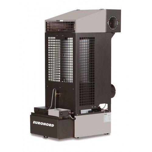 Тепловая пушка на отработанном масле Euronord AT30630 кВт<br>Компактная тепловая пушка на отработанном масле Euronord модели AT-306 поставляется в комплекте с вентилятором, что избавляет пользователя от необходимости покупать дополнительных комплектующих частей для эффективной работы оборудования. Тепловая пушка на масле, высокий КПД и не имеет жестких требований к установке внутри помещения или ее эксплуатации.<br><br>Страна: Германия<br>Производитель: Германия<br>Тип: Печь<br>Площадь, м?: 300<br>Мощность, кВт: 1929<br>Скорость потока м/с: None<br>Расход топлива, кг/час: 1.82.7<br>Расход воздуха, мsup3;/ч: 1000<br>Нагревательный элемент: Нет<br>Вместимость бака, л: 50<br>Регулировка температуры: Есть<br>Вентиляция без нагрева: Есть<br>Настенный монтаж: Нет<br>Влагозащитный корпус: Нет<br>Напряжение, В: 220 В<br>Вилка: None<br>Размеры ВхШхГ, см: 54х113x82<br>Вес, кг: 60<br>Гарантия: 1 год