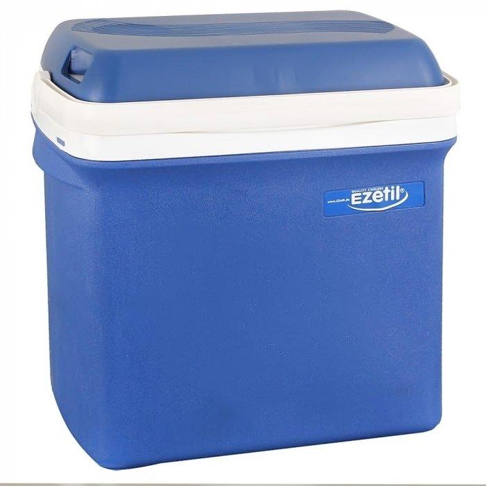 Термоэлектрический автохолодильник Ezetil E 25 12V21-30 литров<br>Автохолодильник Ezetil E 25 12V &amp;mdash; это незаменимая вещь во время долгих поездок на автомобиле с термоэлектрическим принципом охлаждения. Данный прибор позволит сохранить в первозданном виде продукты питания на протяжении всего пути &amp;mdash; это отличный помощник даже в повседневной жизни, когда необходимо доставить еду, преодолев определенное расстояние на машине. &amp;nbsp;&amp;nbsp;&amp;nbsp;&amp;nbsp;<br>Особенности и преимущества термоэлектрических автохолодильников от компании Ezetil:<br><br>Назначение: охлаждение пищевых продуктов<br>Работа от бортовой сети автомобиля 12 вольт;<br>Наличие фиксатора закрытого положения на крышке исключает выпадение содержимого камеры, так же данная модель оснащена дополнительным фиксатором крышки в полуоткрытом положении;<br>Модель оснащена интеллектуальной системой энергосбережения;<br>Шнуры питания вмонтированы в специальный отсек в тыльной части крышки.<br>Энергоэффективность класса А.<br>Соответствует стандартам и нормативам ЕС.&amp;nbsp;&amp;nbsp;&amp;nbsp;&amp;nbsp;&amp;nbsp;&amp;nbsp;&amp;nbsp;&amp;nbsp;&amp;nbsp;&amp;nbsp;&amp;nbsp;&amp;nbsp;&amp;nbsp;&amp;nbsp;<br><br>Продукция компании Ezetil &amp;mdash; это достаточно востребованные, комфортные в использовании и очень эргономичные изделия, предназначенные для сохранения продуктов питания и напитков во время дальних поездок на автотранспорте или в других бытовых ситуациях. Благодаря достаточному охлаждению такое оборудование позволит увеличить сроки хранения еды и различных жидкостей.&amp;nbsp;<br><br>Страна: Германия<br>Объем, л: 25<br>Мощность, Вт: None<br>Питание, В: 12<br>Max температура, C: None<br>Min температура, C: None<br>Функция подогрева: None<br>Дельта t, C: 20<br>Кабель питания: Есть<br>Назначение: Автохолодильник<br>ГабаритыВШД,мм: 420x260x390<br>Вес, кг: 4<br>Гарантия: 2 года
