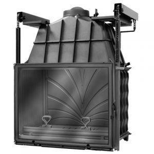 Камин Fabrilor DECO 815 DOТопки<br>DECO 815 DO   это каминная топка с автоматическим доводчиком дверцы. Изготовленная рассматриваемая модель дровяного очага из толстого высококачественного чугуна и полностью соответствует всем европейским стандартам на данное оборудование. Встраиваемый дровяной очаг подойдет для использования в квартире, загородном доме или охотничьем домике, быстро справляясь со своей задачей и радуя обитателей жилища языками живого пламени и веселым потрескиванием дров, даря помещению позитивное и умиротворенное настроение.<br>Характерные особенности представленной модели каминной топки:<br><br>Исполнение с прямым стеклом.<br>Боковое открытие дверцы.<br>Оснащена встроенной заводской шиберной заслонкой.<br>Регулировка подачи воздуха для горения.<br>Большой вместительный зольник.<br>Режим длительного горения   поддерживается процесс тления в течение 4-10 часов.<br>Все элементы изготовлены из высококачественного термостойкого чугуна.<br>КПД более 75%.<br>Большая площадь теплоотдачи за счет оребрения.<br>Современные технологии в классическом исполнении.<br>Полное соответствие европейской норме EN 13229.<br>Высококачественное исполнение.<br>Рекомендуемое топливо: дрова и древесные брикеты.<br>Дополнительная опция: с грилем (заказывается отдельно).<br><br> <br>DECO 800   это серия чугунных топок для каминов от французской компании Fabrilor. Все модели представленной линейки отличаются высококачественным исполнением, благодаря чему прослужат долгие годы, радуя хозяев дома, а также их гостей настоящим живым пламенем и уютным потрескиванием дров. Кроме того, топки данной серии прекрасно смогут обогреть помещение, так как имеют большую площадь теплоотдачи. Стоит отметить и дизайн моделей   их элегантные линии, благородные металлически оттенки и необычным декор прекрасно дополнят обслуживаемое помещении.<br>Обратите внимание: для разжигания нельзя использовать горюче-смазочные материалы, такие как бензин, солярку и т. д. Следует избегать перепадов температур
