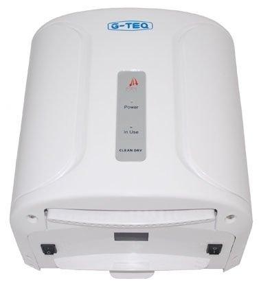 Сушилка для рук G-teq 8801 PWАнтивандальные<br>Сушилка для рук G-teq 8801 PW &amp;ndash; это прекрасный выбор для общественных туалетов. Прибор автоматически включается после поднесения рук в зону работы сенсора, а выключается сразу же, как пользователь уберет руки из рабочей зоны. Представленный прибор оснащен инфракрасным датчиком, блоком управления, а также электродвигателем и нагревательным элементом. Все комплектующие детали отличаются высоким качеством и помещены в ударопрочный корпус из ABS пластика, именно поэтому сушилка для рук G-teq 8801 PW устойчива к механическим воздействиям и безукоризненно прослужит долгое время.<br>Комплект поставки:<br><br>Cушилка для рук &amp;ndash; 1шт.<br>Руководство по эксплуатации &amp;ndash; 1шт.<br>Комплект крепежа &amp;ndash; 1шт.<br>Упаковочная коробка &amp;ndash; 1шт.<br><br><br><br>Страна: Китай<br>Мощность, кВт: 1,0<br>Материал корпуса: Пластик<br>Поток воздуха м/с: 45<br>Степень защиты: IP 23<br>Цвет корпуса: Белый<br>Минимальный уровень шума, дБа: 54<br>Объем воздушного потока, м3/час: None<br>Средняя скорость высушивания, сек: 12<br>Температура воздушного потока, С: 60<br>Размеры, мм: 252х177х270<br>Вес, кг: 4<br>Гарантия: 1 год