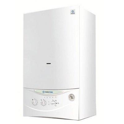 Котел Gazlux GAZECO -18-T118 кВт<br>&amp;nbsp;<br>Настенный газовый котел Gazlux GAZECO-18-C1 класса Economy &amp;ndash; эффективное решение, если Вам нужен экономный прибор для отопления и приготовления горячей воды.<br>Его мощность позволяет отапливать помещения общей площадью до 180 м2. При этом котлы этой производственной линейки разработаны с учетом российского опыта поквартирных отопительных систем в многоэтажных домах.<br>Производительность горячей воды достигает 11 литров в минуту при температуре 25 &amp;ordm;С и позволяет одновременно обслуживать до двух водоразборных точек.<br>Минимальный уровень давления газа, необходимый для стабильной работы прибора, составляет 3 мбар, что существенно важно с учетом реалий российского газоснабжения.<br>Минимально давление воды в водопроводе, достаточное для запуска системы горячего водоснабжения &amp;ndash; 2 м. вод. ст.<br>Битермический теплообменник, изготовленный из электролитической меди, выполнен по инновационной технологии &amp;ldquo;труба в трубе&amp;rdquo;, что значительно повышает скорость и эффективность приготовления горячей воды.<br>Широкий диапазон модуляции котла предусматривает постоянно автоматическое регулирование мощности от min до max, что позволяет стабильно с высокой точностью поддерживать заданную Вами температуру в помещении, а также температуру подаваемой горячей воды, на постоянно заданном уровне. Это, в свою очередь, не только избавляет Вас от неудобств, связанных с температурными колебаниями и необходимостью постоянно корректировать климатический режим, но и позволяет оптимизировать расход газа.<br>Удобные поворотные ручки-регуляторы и простой, интуитивно понятный пользовательский интерфейс позволяет управлять прибором с легкостью и комфортом.<br>Автоматический электронный розжиг горелки позволяет запускать котел без дополнительных источников огня, а также избавляет Вас от необходимости зажигать грелку вручную.<br>Контроль горения пламени обеспечивает Вашу безопасность, а также оптимизирует ра