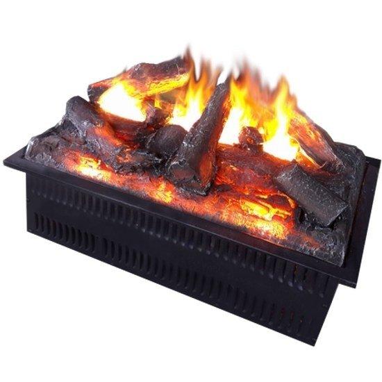 Очаг электрокамина Glenrich HotaОчаги широкие<br>Электрическая топка Glenrich (Гленрич) Hota выполнена в виде настоящего горящего костра. Трехмерное изображение пламени делает устройство достаточно необычным и оригинальным. Конструкция прямоугольной формы может быть установлена отдельно, а также может быть вмонтирована в мебель. Главным преимуществом агрегата является его безопасное использование.<br>Особенности и преимущества:<br><br>Эффект живого огня.<br>Удобное управление.<br>Возможность работы в декоративном режиме.<br>Безопасность использования.<br>Надежность и долговечность.<br><br>Электрические камины Glenrich отличаются уникальным дизайном и неповторимым качеством конструкции. Модели станут не только достойным украшением интерьера помещения, но и помогут в создании комфортных климатических условий. Все устройства изготовлены из высококачественных и экологически чистых материалов. Камины предназначены для напольной установки.<br><br>Страна: Россия<br>Мощность, кВт: None<br>Пламя Optiflame: Нет<br>Эффект топлива: Дрова<br>Фильтр очистки воздуха: Нет<br>Обогреватель: Нет<br>Цвет рамки: Черный<br>Потрескивание: Нет<br>Пульт: Есть<br>Дисплей: Нет<br>Тип камина: Электрический<br>ГабаритыВШГ,мм: 190х600х300<br>Гарантия: 1 год<br>Вес, кг: 15
