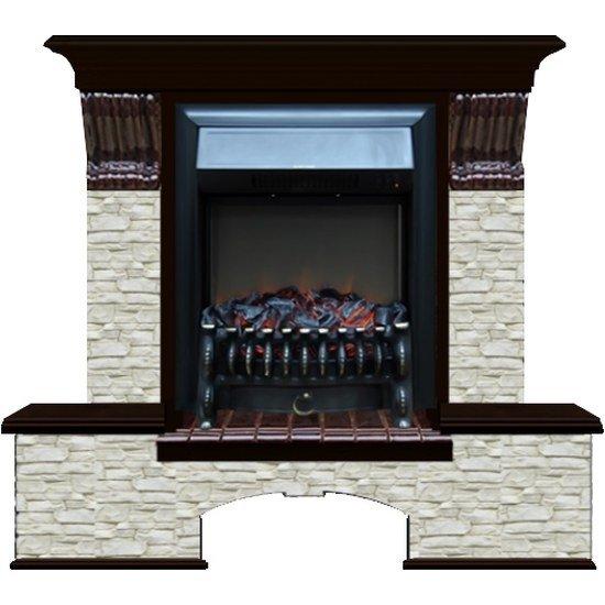 Камин Glenrich Бостон К (Fobos) камень-Грот однотонный/цвет-ВенгеКаминокомплекты<br>Модель электрического камина Glenrich (Гленрич) Бостон К (Fobos) разработана для обслуживания помещений, площадь которых не превышает 22 м2. Оборудование используется для дополнительного обогрева помещения и для его освещения. Встроенный электрический очаг имитирует горение дров, что максимально приближает модель к традиционному камину.<br>Особенности и преимущества:<br><br>Эффект живого огня.<br>Удобное управление.<br>Возможность работы в декоративном режиме.<br>Безопасность использования.<br>Надежность и долговечность.<br>Красивый дизайн.<br>Качественные материалы изготовления.<br><br>Glenrich Бостон К (Fobos)   это серия электрических каминов, отличающихся качественной конструкцией и надежным функционированием. В режиме декоративного свечения устройства потребляют достаточно небольшое для своих габаритов количество электроэнергии. Оборудование помогает создать в помещении невероятную и в тоже время уютную атмосферу, в которой переплетается прошлое и настоящее.<br><br>Страна: Россия<br>Материалы портала: МДФ/нат. шпон/камень<br>Мощность, кВт: 1,5<br>Обогреватель: Есть<br>Фильтр очистки воздуха: Нет<br>Пламя Optiflame: Нет<br>Эффект топлива: Угли<br>Цвет: Венге<br>Потрескивание: Нет<br>Пульт: Есть<br>Дисплей: Нет<br>Тип камина: Электрический<br>ГабаритыВШГ,мм: 1085х1220х400<br>Вес, кг: 100<br>Гарантия: 1 год