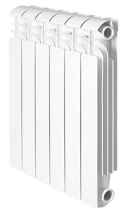 Радиатор отопления Global Iseo 350 6 секц.Алюминиевые<br> <br>Алюминиевый радиатор отопления Global (Глобал) Iseo 350 6 секц. был разработан известной компанией специально для комфортного обогрева помещений. Использовать агрегат можно и в автономных отопительных системах (загородные дома, коттеджи), и в централизованных (в квартирах и офисах, детских садах, магазинах и т.д.). Эргономичная конструкция радиатора с прекрасными аэродинамическими показателями дает возможность установить прибор в любом удобном месте.<br>Особенности и преимущества алюминиевых радиаторов Global Iseo:<br><br>Усиленная конструкция и защитный внутренний фторо-циркониевый слой<br>Специальная форма вертикальных ламелей<br>Высокая теплоотдача<br>Высококачественная обработка поверхностей радиатора<br>Применена двухступенчатая технология покраски<br>Современный дизайн<br>Простое управление температурой нагрева<br>Цвет белый RAL 9010 подходит к любому интерьеру<br>Двухступенчатая покраска обеспечивает стойкость к моющим средствам и ультрафиолетовому излучению<br>Специальные паронитовые прокладки исключают возможность протечек<br>Произведено в Италии с учетом условий российских систем отопления<br><br>При установке радиаторов модели Global Iseo необходимо соблюдать следующие расстояния: <br><br>до пола   не менее 10 см; <br>до стен   не менее 3 см; <br>до подоконника или полки   не менее 10 см.<br><br>Комплектация:<br><br>Радиатор в сборе<br>Инструкция на русском языке<br><br>Iseo  350   среднемощная линейка в семействе цельнолитых алюминиевых радиаторов Глобал. Теплопроводность одной греющей секции радиатора достигает 134,0 Вт, чем обусловлены места их эффективного применения: в стандартных помещениях с небольшими теплопотерями. Агрегаты просты в подключении и производится оно может как сверху, так и снизу, что очень удобно. В нашем интернет-магазине радиаторы Global представлены и другими линейками. Полный ассортимент вы найдете на страницах онлайн-каталога. <br><br>Страна: Италия<br>Межосевое расс