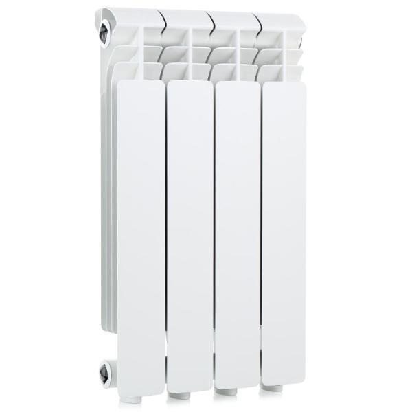 Радиатор отопления Global Iseo 500 4 секц.Алюминиевые<br>Алюминиевый радиатор отопления Global (Глобал) Iseo 500 4 секц. отлично справится с задачей обогрева холодных помещений. Одна секция показывает теплопроводность в 500,0 Вт, поэтому радиатор будет эффективен в комнатах с большими теплопотерями. Устанавливать прибор можно и в стенных нишах, и под подоконниками, показатели теплоэффективности при этом не снизятся. Обусловлено такое преимущество превосходными аэродинамическими показателями.<br>Особенности и преимущества алюминиевых радиаторов Global Iseo:<br><br>Усиленная конструкция и защитный внутренний фторо-циркониевый слой<br>Специальная форма вертикальных ламелей<br>Высокая теплоотдача<br>Высококачественная обработка поверхностей радиатора<br>Применена двухступенчатая технология покраски<br>Современный дизайн<br>Простое управление температурой нагрева<br>Цвет белый RAL 9010 подходит к любому интерьеру<br>Двухступенчатая покраска обеспечивает стойкость к моющим средствам и ультрафиолетовому излучению<br>Специальные паронитовые прокладки исключают возможность протечек<br>Произведено в Италии с учетом условий российских систем отопления<br><br>При установке радиаторов модели Global Iseo необходимо соблюдать следующие расстояния: <br><br>до пола   не менее 10 см; <br>до стен   не менее 3 см; <br>до подоконника или полки   не менее 10 см.<br><br>Комплектация:<br><br>Радиатор в сборе<br>Инструкция на русском языке<br><br>Компания Global разработала семейство алюминиевых радиаторов, выполненных в цельнолитой конструкции: Iseo в типоразмерах 350 и 500 мм. Iseo  500   наиболее мощная серия. Радиаторы качественно исполнены, покрыты защитным, а при их окраске была применена специальная разработка. Конструкция приборов герметична, а наличие паронитовых прокладок полностью исключает разгерметизацию и возникновение протечки на местах подключения.<br><br>Страна: Италия<br>Межосевое расстояние, мм: 500<br>Площадь, м?: None<br>Внутрен. объем секции, л: 0,46<br>Колво секций: 4