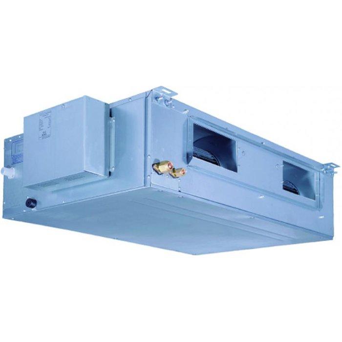 Канальный кондиционер GoldStar GSFH42-NK1BI/GSUH42-NM1AO11 кВт - 36 BTU<br>Goldstar (Голдстар) GSFH42-NK1BI/GSUH42-NM1AO   это технологичный и долговечный полупромышленный канальный кондиционер характеризующийся высокой рабочей мощностью и имеющий гарантированный увеличенный срок эксплуатации. Представленное оборудование применяется для обслуживания большой территории, а также может поставлять на объект качественный свежий воздух.<br>Особенности и преимущества кондиционеров Goldstar представленной серии:<br><br>Эффективное осушение<br>Автоматическая работа<br>Интеллектуальная разморозка<br>Самодиагностика<br>Авторестарт<br>Очистка воздуха<br>Таймер<br>Приток свежего воздуха<br> Теплый  старт<br><br>Полупромышленные кондиционеры от Goldstar серии Universal идеально подходят для использования в российском климате и могут эффективно и безопасно работать в течение всего года. В представленной серии представлены высокомощные внутренние блоки трех типов, каждый из которых подходит для подключения к совпадающему по производительности наружному блоку. <br><br>Страна: Китай<br>Охлаждение, кВт: 12.0<br>Обогрев, кВт: 14.0<br>Компрессор: Не инвертор<br>Площадь, м?: 120<br>Потребляемая мощность охлаждения, Квт: 5.3<br>Потребляемая мощность обогрева, Квт: 4.9<br>Воздухообмен, мsup3;/ч: None<br>Габариты внеш. блока ВШГ: 1250x1032x412<br>Осушение, л/час: None<br>Габариты внут. блока, ВШГ: 290x1226x775<br>Уровень шума внеш/внутр.б., Дба: 62/46<br>Вес внеш. блока, Кг: 112<br>Вес внутр. блока, Кг: 54<br>Длина трассы, м: 50<br>Режимы работы: Холод / тепло<br>Режим приточной вентиляции: Есть<br>Сенсор движения: Нет<br>Фильтры тонкой очистки воздуха: Нет<br>Гарантия: 3 года