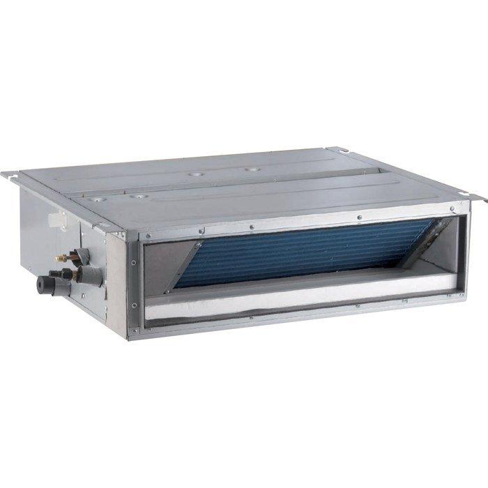 VRF система GoldStar GSM-25/FXS1VКанальные<br>GoldStar (ГолдСтар) GSM-25/FXS1V   это модель малошумного канального внутреннего блока, который является частью мультизональной системы кондиционирования. Благодаря внедрению современных технологий, агрегат отличается способностью быстрого создания и поддержания оптимальной температуры воздуха в помещении. Это относиться как к режиму обогрева, так и к режиму охлаждения.<br>Особенности и преимущества:<br><br>Высокая эффективность и энергосбережение.<br>Компактный дизайн.<br>Удобное электроподключение.<br>Простота установки и обслуживания.<br>Бесшумная работа.<br>Интеллектуальная технология контроля за температурой.<br>Высокая скорость отклика системы и повышенная надежность связи. Автоадресация, неполярная связь, свободная проводная подгонка.<br>Защита от обмерзания теплообменника.<br>Защита от перегрузки двигателя встроенного вентилятора.<br>Защита при неисправности температурного датчика.<br><br>Канальные внутренние блоки мультизональных сплит-систем GoldStar   это простые в обслуживании, надежные и практичные климатические устройства полупромышленного типа, выполненные из высокопрочных материалов, устойчивых к износу и агрессивному внешнему воздействию. Блоки имеют передовые системы безопасности и новейшее высокоэффективное управление. <br><br>Страна: Китай<br>Производитель: Китай<br>Охлаждение, кВт: 2,5<br>Обогрев, кВт: 2,8<br>Площадь м?: 25<br>Потребление охл, кВт : 0,025<br>Потребление тепло, кВт : 0,025<br>Расход воздуха, м3/ч: 450<br>Рабочий ток, А: 0,2/0,2<br>Фреон Хладагент: R410a<br>Мин. уровень шума, дБа: 22<br>Макс. уровень шума, дБа: 30<br>диаметр жидкостной линии, дюйм: 1/4<br>диаметр газовой линии, дюйм: 3/8<br>Отвод конденсата, мм: 25<br>Питаниев/Гц/Ф: 230/50/1<br>Габариты блока ШxВxГ, мм: 710x200x450<br>Вес, кг: 19<br>Гарантия: 4 года