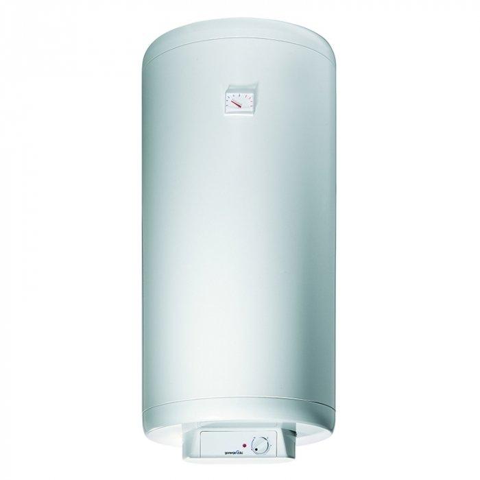 Мощный водонагреватель Gorenje GBFU 150 B6150 литров<br>Мощный электрический накопительный водонагреватель с сухим ТЭНом Gorenje GBFU 150 B6   это оптимальный выбор для дома или городской квартиры. Представленный прибор оснащен многофункциональной приборной панелью. Каждый пользователь без хлопот и лишнего затруднения разберется во всех кнопках и регуляторах. Имеется превосходная возможность установки экономичного режима, который сокращает потребление электроэнергии.<br><br>Страна: Словения<br>Производитель: Сербия<br>Способ нагрева: Электрический<br>Нагревательный элемент: Карбоновый<br>Объем, л: 150<br>Темп. нагрева, С: 75<br>Мощность, кВт: 2,0<br>Напряжение сети, В: 220 В<br>Плоский бак: Нет<br>Узкий бак Slim: Нет<br>Магниевый анод: Да<br>Колво ТЭНов: 2<br>Дисплей: Нет<br>Сухой ТЭН: Да<br>Защита от перегрева: Да<br>Покрытие бака: Эмаль<br>Тип установки: Вертикальная/Горизонтальная<br>Подводка: Нижняя<br>Управление: Механическое<br>Размеры ШхВхГ, см: 45,4х131,8х46,1<br>Вес, кг: 50<br>Гарантия: 1 год<br>Ширина мм: 454<br>Высота мм: 1318<br>Глубина мм: 461