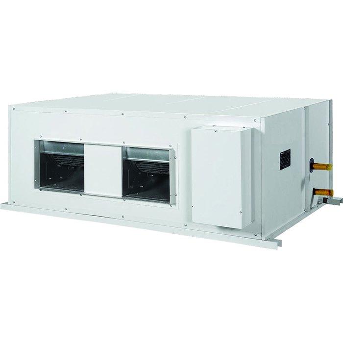 Канальный кондиционер Gree FGR 20 BNa-M17 кВт - 60 BTU<br>Gree (Гри) FGR 20 BNa-M   это передовой и интеллектуальный канальный кондиционер для бытовых и коммерческих помещений, выполненный в эргономичном высокопрочном корпусе и отличающийся сравнительно компактными размерами. Представленное оборудование отлично подходит для различных условий работы и также характеризуется высокой устойчивостью к воздействию внешней среды.<br>Особенности и преимущества канальных кондиционеров Gree серии FGR:<br><br>Комплектуются распределительной камерой (пленумом), к которой можно присоединить несколько воздуховодов и подавать воздух в разные помещения.<br>Эффективная теплоотдача внутреннего блока.<br>Самодиагностика.<br>Возможен приток свежего воздуха, с помощью которого нормализуется концентрация кислорода и повысится уровень комфортности в помещении.<br>Защита от неправильного подключения электропитания.<br>Теплый старт исключает поступления холодного воздуха в начале работы, тем самым позволяет избежать не комфортных ощущений.<br>Устройство обогрева картера компрессора.<br>Режим  Авто    кондиционер самостоятельно определяет температуру воздуха и выстраивает работу на обогрев или охлаждение.<br><br>FGR от компании Gree   это линейка мощных климатических устройств представленная сплит-системами канального типа. Такие агрегаты будут эффективно кондиционировать большие пространства, благодаря чему отлично подойдут для установки в торговых центрах, выставочных залах, производственных помещениях. Сплит-системы имеют увеличенную длину фреонопровода, характеризуются тщательно продуманной конструкцией, создают минимум шума для оборудования такого класса и экономично потребляют электрическую энергию.<br><br>Страна: Китай<br>Охлаждение, кВт: 20.0<br>Обогрев, кВт: 22.0<br>Компрессор: Не инвертор<br>Площадь, м?: 200<br>Потребляемая мощность охлаждения, Квт: 8.4<br>Потребляемая мощность обогрева, Квт: 7.0<br>Воздухообмен, мsup3;/ч: 4000<br>Габариты внеш. блока ВШГ: 1350x1150x460<br>Осушение,