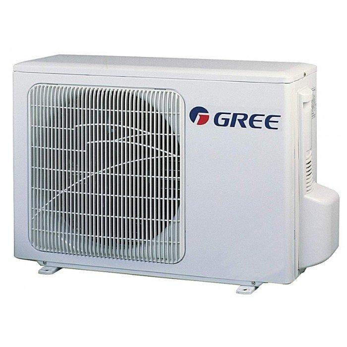 Настенный кондиционер Gree55 м? - 5.5 кВт<br>Современный настенный кондиционер Gree (Гри) GWH 18 UC-K3 DNA1C blue оснащен инверторным компрессором нового поколения, что делает устройство невероятно энергоэффективным. Кондиционер работает на обогрев, охлаждение, вентиляцию и осушение. Осушение слишком влажного воздуха не затрагивает температуру, оставляя ее неизменной для увеличения комфорта пользователя.<br><br>Основные преимущества настенной сплит-системы от компании Gree:<br><br>Объемный воздушный поток, который препятствует появлению сквозняков.<br>Блокировка пульта   незаменимая функция при наличии маленьких детей в помещении.<br>Работа компрессора на максимальных оборотах позволяет быстро охладить  или обогреть помещение.<br>После отключения кондиционера вентилятор внутреннего блока некоторое время продолжает работать, тем самым препятствует скоплению влаги на теплообменнике и предотвращает загрязнение внутреннего блока.<br>Исключается подача холодного воздуха в помещение при режиме нагрева, когда холодный воздух помещения еще недостаточно прогрет.<br>Микропроцессор кондиционера реагирует на нештатную ситуацию в работе или поломку, автоматически выключает кондиционер и выводит на дисплей код неисправности.<br>Многоскоростной вентилятор наружного блока позволяет в кротчайшее время достигать заданных температур в помещении.<br>На дисплее кондиционера отображаются выбранные режимы и заданная температура, а также ошибки в работе кондиционера.<br>Кондиционер самостоятельно переключается в режим размораживания.<br><br>Компания Gree представляет одну из самых красивых линеек кондиционеров во всем мире. Эта серия настенных сплит-систем называется Change, и ее считают лидером в энергоэффективности. Данная модель может похвастаться компрессором типа DC-инвертор, который относят к новому поколению. Такое оборудование работает преимущественно на фреоне R410A. Кондиционер оснащен автоматическим возобновлением работы в прежнем режиме  после перебоев в подаче электроэнергии. 