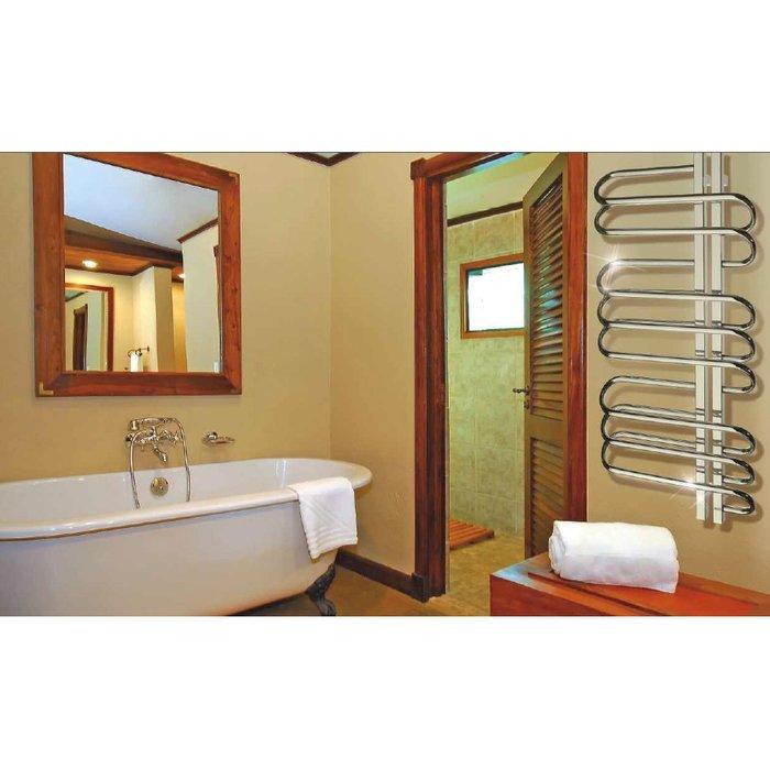 Водяной полотенцесушитель Grota Stelle R 500x1500Лесенка<br>Водяной полотенцесушитель Grota (Грота) Stelle R &amp;nbsp;500x1500&amp;mdash; это правильное решение для покупки, если вы давно хотели разместить внутри ванной комнаты комфортный в использовании и лаконичный по своему дизайнерскому решению аксессуар. Данное устройство предлагает современному потребителю возможность быстро и просто сушить вещи из текстиля, а также может осуществить дополнительный обогрев.<br>Главные достоинства водяных полотенцесушителей GROTA серии Stelle R:<br><br>Материал изготовления &amp;ndash; нержавеющая сталь высокого качества<br>Высокая антикоррозийная устойчивость<br>Легкость установки и обслуживания<br>Невероятно привлекательный современный облик<br>Исключительное качество по достойной цене<br>Максимальное давление 15 атм<br><br>Комплектация:<br><br>Крепления;<br>Воздухоотводчик;<br>Комплект дюбелей, винтов, шайб, болтов с шестигранной головкой;<br>Шестигранный ключ;<br>Инструкция по монтажу<br><br>Водяные полотенцесушители Grota Stelle R отличаются лаконичным дизайнерским решением и выглядят максимально современно и в духе сегодняшнего времени. Каждая модель имеет одно очень важное и очевидное преимущество &amp;mdash; скрытое подключение воздушного клапана, что очень удобно и повышает эстетический вид всей конструкции. Изделия изготавливаются из высококачественной нержавеющей стали. &amp;nbsp;<br><br>Страна: Россия<br>Производитель: Россия<br>Тип: Водяной<br>Форма: Лесенка<br>Цвет: Хром<br>РазмерыВШ, мм: 1500x500<br>Межосевое расст., мм: 50<br>Подключение: Нижнее<br>Min давление: None<br>Max давление: 15<br>Вес, кг: 12<br>Гарантия: 5 лет