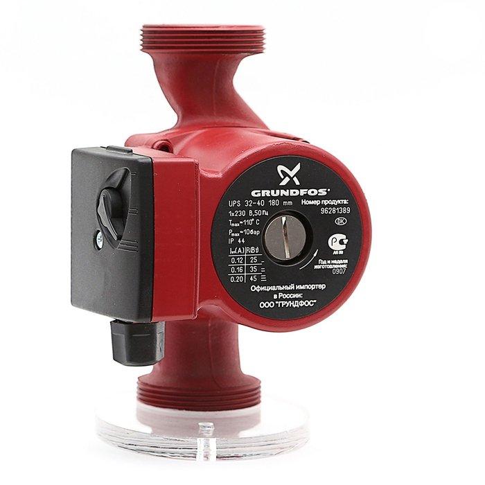 Циркуляционный насос Grundfos UPS32-40 180 1x230V 50Hz 9HНасосы для отопления<br>Циркуляционный насос &amp;laquo;Grundfos&amp;nbsp; (Грундфос ) UPS32-40 180 1x230V 50Hz 9H&amp;raquo; поможет организовать стабильную в работе и высокопроизводительную систему отопления помещений. Модель отличается высокой мощностью, при этом потребление электроэнергии сведено к минимуму. Качественные материалы изготовления позволили добиться длительного срока эксплуатации, которая составляет более десяти лет.<br>Особенности и преимущества циркуляционных насосов Grundfos представленной серии:<br><br>Подходят для использования в системах горячего водоснабжения:<br><br>Однотрубные и двухтрубные системы отопления;<br>Основные насосы;<br>Зональные насосы;<br>Котельные насосы с параллельным всасыванием;<br>Насосы для отопительных поверхностей;<br>Водонагреватели;<br>Системы отопления тёплый пол;<br>Системы солнечного отопления;<br>Теплонасосные системы;<br>Геотермальные системы теплоснабжения;<br>Системы рекуперации тепла;<br>Двухтрубные системы кондиционирования воздуха;<br>Насосы для холодильных установок.<br>Не требуют технического обслуживания.<br>Низкий уровень шума.<br>Низкое энергопотребление.<br>Широкий спектр моделей.<br>Имеются варианты с корпусами из коррозионно-стойкой бронзы.<br>Широкий ассортимент принадлежностей.<br><br><br><br>Торговая марка Grundfos&amp;nbsp; &amp;ndash; известный производитель насосного оборудования, родом из Дании. Бренд разработал семейство передовых циркуляционных насосов, которые могут применяться в широком спектре систем водоснабжения. Модельный ряд весьма разнообразен и представлен несколькими модификациями. UPS разработаны для работы с системами отопления и различными системами кондиционирования. ALPHA2 - технологичные насосы, также предназначенные для систем отопления, но имеющие обособленность -&amp;nbsp; приборы оборудованы специальными автоматическими комплектующими, которые регулируют перепады давления. UP &amp;ndash; насосное оборудование для р