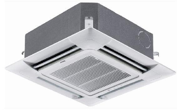 Кассетный кондиционер Haier AB24ES1ERA(S)/1U24GS1ERA5.5 кВт - 18 BTU<br>Четырехпоточный инвертоный кондиционер кассетного типа Haier AB24ES1ERA(S)/1U24GS1ERA создан для высокоэффективной эксплуатации на охлаждение, обогрев, вентиляцию и осушение воздуха. Благодаря воздушному фильтру глубокой очистки сплит-система может создать не только комфортный, но и здоровый микроклимат. Имеется удобное управление с помощью пульта с дружелюбным интерфейсом. Также имеет функция автоматического перезапуска и защита о скачков напряжения.<br>Особенности и преимущества кассетных четырехпоточных кондиционеров серии DC-Inverter от компании Haier:<br><br>Инверторное управление.<br>Теплообменник наружного блока покрыт антикоррозийным напылением.<br>Очень низкий уровень шума.<br>Возможность разных схем для воздухораспределения.<br>Повышенный класс энергоэффективности.<br>Блокировка основного управления.<br>Установлена функция  Авторестарт .<br>Предусмотрен фильтр глубокой очистки воздуха.<br>Можно использовать кондиционер в период низких температур.<br>Идеально точное поддержание температуры помещения.<br>Предусмотрен антибактериальный фильтр.<br>Малогабаритность.<br>Простота и доступность в обслуживание и эксплуатации.<br>Модель поставляется в собранном виде.<br>Пульт входит в классическую комплектацию.<br>Усовершенствованный дизайн.<br><br>Линейка полупромышленных сплит-систем кассетного типа DC-Inverter придется по вкусу всем ценителям высокого качества и комфорта. Это высокотехнологичные современные агрегаты, которые призваны удовлетворить потребности в комфортных климатических условиях даже самых притязательных покупателей. Широкие функциональные возможности, удобство управления, эффективность охлаждения и обогрева   это далеко не все преимущества данных устройств. Стоит отметить, что продукция компании Haier   одна из самых популярных на мировом рынке климатического оборудования.<br><br>Страна: Китай<br>Площадь, м?: 65<br>Охлаждение, кВт: 6,5<br>Обогрев, кВт: 7,1<br>Компрессор: Инве