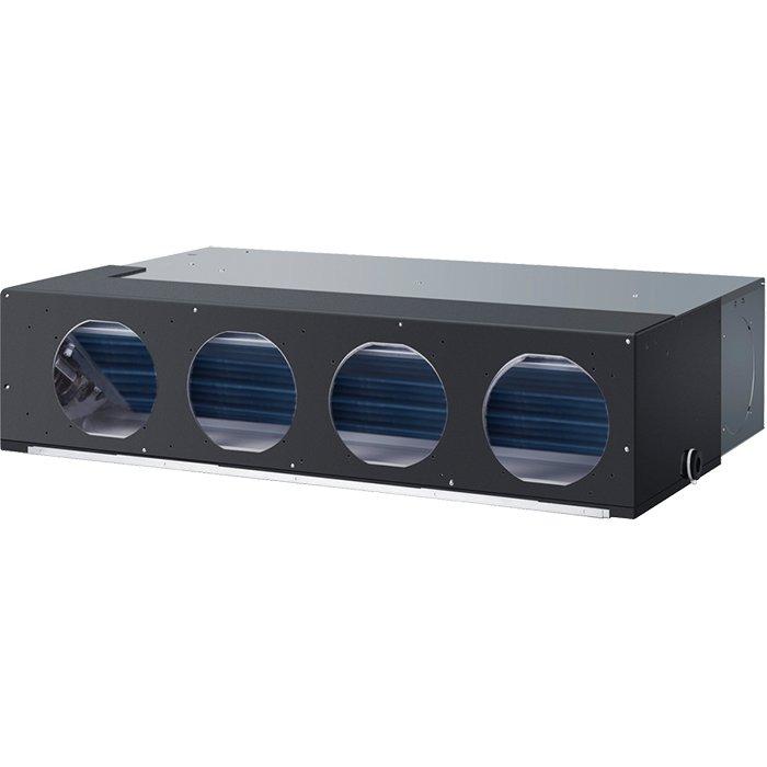 Канальный кондиционер Haier AD36NS1ERA(S)/1U36HS1ERA(S)11 кВт - 36 BTU<br>Канальный средненапорный кондиционер Haier AD36NS1ERA(S)/1U36HS1ERA(S) представляет собой сплит-систему с инверторным управлением, при котором значительно снижается потребление электроэнергии. Это устройство может выполнять обогрев, охлаждение, вентиляцию и осушение воздуха в помещении. В арсенале этого кондиционера имеется несколько режимов работы и дополнительные функции и опции.<br>Основные характеристики рассматриваемой модели канального кондиционера от торговой марки Haier:<br><br>Инверторная технология управления.<br>Высокая энергоэффективность.<br>Фильтр глубокой очистки воздуха.<br>Функция автоматического перезапуска с сохранением заданных параметров функционирования.<br>Кондиционер оборудован системой самодиагностики неисправностей.<br>Возможна работа в режиме понижения относительной влажности воздуха в обслуживаемом помещении.<br>Режим быстрого выхода на заданную температуру   Power/Soft.<br>Режим комфортного сна.<br>Трехминутная задержка при частых включениях для защиты компрессора.<br>Два таймера   на 24 часа и на неделю.<br>Режим осушения воздуха в помещении.<br>Инфракрасный пульт ДУ, оснащенный жидкокристаллическим экраном.<br>Централизованный пульт управления (для использования в составе мульти-сплит систем).<br><br>Торговая марка Haier предлагает пользователям серию канальных кондиционеров среднего напора, осуществляющих работу на основе современной технологии DC-Inverter. Благодаря применению вышеупомянутой технологии, максимально сокращен срок выхода на заданную температуру и режим функционирования, уменьшено потребление электрической энергии, а также сведены к минимуму шумовые характеристики работающих устройств. Неоспоримым преимуществом кондиционеров данной серии является возможность использования их, как в составе сплит-систем, так и мульти-сплит системах кондиционирования воздуха, благодаря интеграции инновационной технологии Free-match.<br><br>Страна: Китай<br>Охлаждени