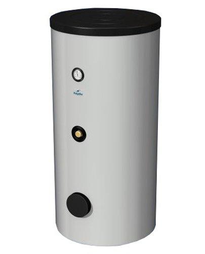 Бойлер косвенного нагрева Hajdu STA 1000 ССвыше 500 литров<br> <br>Водонагреватель Hajdu STA 1000 C это высокопроизводительный прибор косвенного нагрева бюджетной серии, позволяющий обеспечить запас теплой воды объемом в 1000 литров и расходную производительность по воде порядка 950 литров в час.<br>Один теплообменник, площадь которого составляет 2,4 м2, создает условия для эффективной теплопередачи от теплоносителя нагреваемой воде.<br>Надежность конструкции и износоустойчивость материалов создают условия для длительной эксплуатации устройства без нужды в ремонте и замене.<br>Особенности прибора:<br><br>Нагрев от отопительного котла или другого источника теплоносителя<br>Большая водонакопительная емкость<br>Один теплообменник с большой площадью поверхности<br>Может обслуживать несколько точек потребления одновременно<br>Выдерживает давление до 10 бар<br>Экологически чистая теплоизоляция<br>Обойма для установки анода<br>Жесткий пластиковый корпус<br>Напольное вертикальное исполнение<br>Регулируемая ножка для устойчивой установки<br>Гарантия на готовое изделие 2 года<br>Гарантия на внутренний бак 7 лет<br><br> Водонагреватели косвенного нагрева   один из наиболее рациональных способов нагрева и сбережения запаса теплой воды, особенно в тех случаях, когда интенсивность расхода горячей воды колеблется, а основная система отопления работает на более дешевых и более производительных котлах   твердотопливном или газовом. Как правило, косвенные водонакопители используют для снабжения санитарной горячей водой домов и загородных коттеджей, офисов или промышленных учреждений.<br>Принцип действия таких водонагревателей прост: нагревательный элемент прибора (ТЭН) подключается к котлу, установленному во главе отопительной системы, и вода или антифриз, циркулирующие по отопительной системе, проходя по ТЭНу бойлера нагревает воду, находящуюся в нем. Такой способ нагрева воды гораздо экономичнее, нежели использование отдельного водонагревателя, а в случаях, когда электрическая сеть