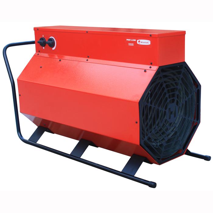 Тепловая пушка Hintek PROF-3038030 кВт<br>Модель тепловой пушки Hintek (Хинтек) PROF-30380 разработана для качественного отопления помещений с различными конфигурациями. Прибор включает в общую конструкцию ТЭН из нержавеющей стали, поэтому не  выжигает  кислород из воздуха во время работы. Прибор удобен в эксплуатации и оснащен защитой от перегрева. Приведенная тепловая пушка сочетает в себе компактность и высокую мощность.<br>Особенности рассматриваемой модели тепловой пушки Hintek PROF:<br><br>Тепловые пушки создают и поддерживают комфортные температурные условия на рабочем месте   производственные помещения: цеха, мастерские, бытовки и др.<br>Тепловые пушки, регулируя температуру воздуха от 0 до 40 С, создают комфортные условия в помещении.<br>ТЭН из нержавеющей стали не сжигает кислород.<br>Тепловые пушки защищены от перегрева.<br>Прочный стальной корпус защищенный от коррозии.<br>Низкий уровень шума тепловых пушек обеспечивает бесшумный электродвигатель.<br>Евроразьем с ответной частью поставляется в комплектацию с моделями тепловых пушек 5-9 кВт.<br><br>Тепловые пушки Hintek PROF изготовлены специально для быстрого и качественного обогрева пространства. Приборы идеально подойдут для использования на строительных объектах или в производственных цехах. Благодаря встроенному в каждую модель из серии ТЭНу из нержавеющей стали, оборудование не сжигает кислород из воздуха при работе. Агрегаты защищены от перегрева и работают практически бесшумно. <br><br>Страна: Россия<br>Тип: Электрическая<br>Мощность, кВт: 30,0<br>Площадь, м?: 300<br>Скорость потока м/с: None<br>Расход топлива, кг/час: None<br>Расход воздуха, мsup3;/ч: 2000<br>Нагревательный элемент: Трубчатый<br>Вместимость бака, л: None<br>Регулировка температуры: Есть<br>Вентиляция без нагрева: Есть<br>Настенный монтаж: Нет<br>Влагозащитный корпус: Нет<br>Напряжение, В: 380 В<br>Вилка: Есть<br>Размеры ВхШхГ, см: 50,5x86x35,5<br>Вес, кг: 25<br>Гарантия: 1 год