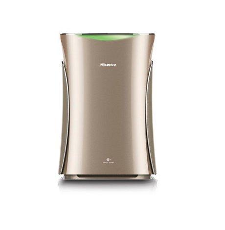 Очиститель воздуха Hisense AE-33R4BNSОчистка + Увлажнение<br>Воздухоочиститель  Hisense AE-33R4BNS   незаменимый помощник для создания комфортного и здорового климата у вас дома. Пятиступенчатая система очистки воздуха, высококачественные фильтры, индикация относительной влажности воздуха, удобное управление с пульта. Благодаря своему оригинальному дизайну этот воздухоочиститель легко впишется в ваш интерьер. А самое главное, если у вас есть дети, вы можете спокойно оставить их наедине с прибором, поскольку он оснащен функцией блокировки.<br>Особенности и преимущества очистителей-увлажнителей воздуха серии ECOlife от компании Hisense:<br><br>Запатентованная технология увлажнения и очистки воздуха NANOE от Panasonic.<br>Комплексная 5-ти ступенчатая система очистки и увлажнения воздуха.<br>Предварительный фильтр, высокоэффективный HEPA и нанофотокаталитический дезодорирующий фильтры.<br>Увлажняющий и очищающий модуль из фибра материала Fibra CHM.<br>Оптимальная размер резервуара для воды - 2 литра.<br>Высокоточный сенсор качества воздуха - 3-х ступенчатая цветовая индикация.<br>Сенсорная панель управления Touch Screen, индикация температуры и относительной влажности в помещении.<br>Расширенные возможности управления: 4 скорости очистки воздуха, Turbo режим, 2 комфортных режима работы, Smart режим, таймер.<br>Отключаемая функция увлажнения воздуха.<br>Защита от детей   надежная блокировка панели управления.<br>Удобное окно и шкала для контроля за уровнем воды в резервуаре.<br>Эргономичный пульт ДУ и встроенные колесики для легкой транспортировки.<br>Впечатляющий дизайн и цветовая гамма.<br><br>Линейка воздухоочистителей ECOLife создана компанией Hisense с применением передовых технологий, поэтому с уверенностью можно сказать, что приборы являются одними из лучших представителей своего сегмента. Главное их достоинство   технология NANOE, которая обеспечивает эффективную очистку и увлажнение воздуха за счет выработки специальных одноименных частиц, которые содержат больш