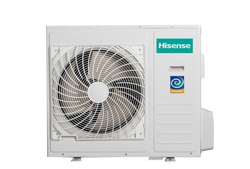 Мульти сплит система Hisense AMW4-28U4SAC4 комнаты<br>Наружный блок мультисплит-системы AMW4-28U4SAC от торговой марки Hisense может одновременно обслуживать четыре помещения при подключении к нему четырех внутренних модулей. Высокая энергоэффективность прибора обусловила скромное энергопотребление. Инверторная технология позволяет регулировать температурный режим максимально плавно, не создавая неприятных перепадов.<br>Особенности и преимущества наружных блоков мульти сплит-систем серии Free Match DC Inverter от компании Hisense:<br><br>Энергоэффективность класса А+/А.<br>Энергосбережение и высокоточное поддержание температуры благодаря технологии 3-DC Inverter.<br>Надежный двойной ротационный DC Inverter компрессор.<br>Плавный пуск компрессора.<br>Электронный расширительный вентиль.<br>Увеличенный теплообмен благодаря внутренней насечке в трубках теплообменника.<br>Режим отопления до -15&amp;deg;С.<br>Максимальная общая длина трассы до 60м, до каждого блока до 25м.<br>Защитная накладка на вентили внешнего блока.<br>Надежность и экономичность.<br><br>Free Match DC Inverter &amp;ndash; это линейка мультисплит-систем от всемирно известного бренда Hisense. Наружные блоки этого семейства отличаются совершенной конструкцией. Среди их особенностей, выгодно выделяющих оборудование, &amp;ndash; инверторный износоустойчивый компрессор ротационного типа с минимумом движущихся частей, который отличается высочайшей эффективностью. Благодаря этому компрессору агрегаты поддерживают температурный режим в обслуживаемом помещении с невероятной точностью, при этом затрачивая минимум электроэнергии. Кроме того, наружные блоки очень тихие, и могут нормально функционировать даже при низких температурах за окном, что позволяет использовать такие сплит-системы и в качеств обогревателей. Семейство представлено разнообразными моделями, которые отличаются мощностью и количество внутренних блоков.<br><br>Страна: Китай<br>Охлаждение вн.блока,кВт: None<br>Производитель: Китай<br>Обогрев вн.бло