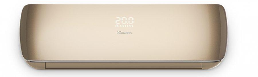 Настенный кондиционер Hisense AS-10UR4SVPSC5G(C)/AS-10UR4SVPSC5W(C)25 м? - 2.6 кВт<br>AS-10UR4SVPSC5G(C)/AS-10UR4SVPSC5W(C)&amp;nbsp;от производителя Hisense представляет собой передовую инверторную сплит-систему, выполненную в стильном перламутровом корпусе.&amp;nbsp; Устройство предназначено для работы на охлаждение, обогрев и вентиляцию. Присутствует возможность произвести эффективное осушение влажного воздуха. Есть множество режимов работы, в числе которых супер-тихий режим &amp;laquo;комфортного сна&amp;raquo;.<br><br>Особенности и преимущества настенных сплит-систем серии PREMIUM SLIM DESIGN SUPER DC INVERTER от компании Hisense:<br><br>Сезонная энергоэффективность A++, SEER/SCOP(6.1/4.0).<br>MIRAGE дисплей.<br>Технология SUPER DC INVERTER.<br>Технология SMART Air.<br>Режим&amp;nbsp; Quite &amp;ndash; низкошумная работа.<br>Двухслойный светопрозрачный пластик передней панели.<br>Ультратонкий корпус, 11,3 см.<br>Низкий уровень шума (от 22 дб(А)).<br>Устойчивость к перепадам напряжения.<br>Работа на охл/обогрев до -15&amp;deg;С.<br>5 скоростей работы вентилятора.<br>Ultra Hi Density фильтр, Negative Ion фильтр, HEPA фильтр.<br>Режим Sleep, Smart, режим Super&amp;rdquo;, I feel.<br>Функция Самоочистки.<br>Таймер на включение и отключение, Dimmer.<br>Защитная накладка на вентили внешнего блока.<br>Двойная шумоизоляция компрессора.<br>Авторестарт, cамодиагностика.<br><br>Серия инверторных кондиционеров PREMIUM SLIM DESIGN SUPER DC INVERTER под брендом Hisense &amp;ndash; это инновационные решение и передовые технологии в стильном ультратонком корпусе, толщина которого составляет всего 113 мм. Данная серия &amp;ndash; одна из новинок от известнейшего производителя климатического оборудования, которая качественно отличается от конкурентов. Оптимальные технические параметры, привлекательный оригинальный дизайн и удобство использования стали главными особенностями этих приборов. Линейка представлена в двух цветовых решениях: Champagne, Silver White.<br><br>Уровень шума