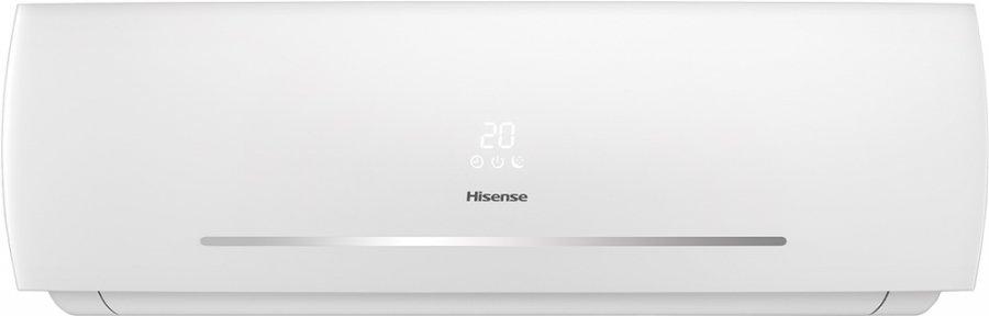 Настенный кондиционер Hisense AS-12HR4SVDDC1G/AS-12HR4SVDDC1W35 м? - 3.5 кВт<br>Сплит-система Hisense AS-12HR4SVDDC1G/AS-12HR4SVDDC1W &amp;ndash; это стильное решение для контроля климата в вашем доме. Новый современный дизайн корпуса, параметры работы ненавязчиво отображаются на передней панели. Дисплей панели отключается пультом дистанционного правления. Автоматические вертикальные и горизонтальные жалюзи. Эффективные фильтры очистки создадут чистый воздух в помещении. Функции авторестарта и самодиагностики упростят использование кондиционера.<br><br>Особенности и преимущества настенных сплит-систем серии NEO CLASSIC A от компании Hisense:<br><br>Энергоэффективность класса А.<br>Новый современный дизайн панели.<br>Светопрозрачный пластик передней панели.<br>MIRAGE дисплей.<br>Ultra Hi Density фильтр, LTC фильтр*, Угольный фильтр .<br>4D AUTO Air (автоматические вертикальные и горизонтальные жалюзи).<br>Режимы Sleep, Smart, Super&amp;rdquo;, Функция &amp;ldquo;I feel&amp;rdquo;.<br>Таймер на включение и отключение .<br>Отключение дисплея внутреннего блока с пульта &amp;ldquo;Dimmer&amp;rdquo;.<br>Функция Самоочистки.<br>Двухстороннее подключение для слива конденсата (левое или правое).<br>Защитная накладка на вентили внешнего блока.<br>Авторестарт, самодиагностика.<br><br>NEO CLASSIC A &amp;ndash; это новое семейство настенных сплит-систем типа on/off от компании Hisense, которое в 2015 году пришло на смену линейке CLASSIC A, вобрав в себя все лучшее от своих предшественников и дополненное новыми возможностями. Первое новшество, сразу бросающееся в глаза, &amp;ndash; светопрозрачный информативный дисплей. Еще одно полезное дополнение &amp;ndash; автоматические жалюзи 4D AUTO Air, с помощью которых пользователь может регулировать распределение воздуха с пульта. Кроме того, агрегаты получили обновленный воздушный фильтр высокой плотности, который удаляет пыль и другие загрязнения на 90%. Также повысилась энергоэффективность, появилась функция &amp;ldquo;I Feel&amp;rd