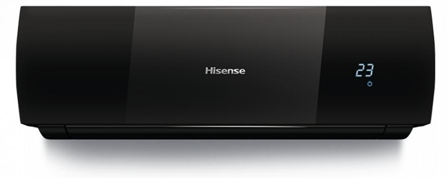 Настенный кондиционер Hisense AS-12HR4SVDDEB1G/AS-12HR4SVDDEB1W35 м? - 3.5 кВт<br>Привлекательный уникальный дизайн и широкое функциональное оснащение существенно выделяют сплит-систему Hisense (Хайсенс) AS-12HR4SVDDEB1G/AS-12HR4SVDDEB1W среди других моделей. Устройство имеет передовое умное управление и оборудовано специальными датчиками для повышения комфорта его использования. Работа выполняется с оптимальным сниженным уровнем шума.<br>Особенности и преимущества сплит-систем Hisense представленной серии:<br><br>Сплит-системы серии BLACK Star Classic A&amp;nbsp; отличаются ярким эксклюзивным дизайном. Глянцевая поверхность черного цвета придает внутреннему блоку неповторимый внешний вид и делает его украшением современного интерьера.<br>Стильный эргономичный пульт управления в специальном лимитированном исполнении Black Star идеально сочетается с цветом кондиционера.<br>Приятным дополнением к дизайну стала усовершенствованная система очистки воздуха.<br>Кроме воздушного фильтра ULTRA Hi Density, все модели имеют фильтры Negative Ion и фотокаталитчиеский, а также встроенный ионизатор, который насыщает воздух полезными для здоровья отрицательно заряженными ионами.<br>Все модели серии BLACK Star Classic A имеют 4D AUTO-Air: возможность управлять положением горизонтальных и вертикальных жалюзи, устанавливая максимально комфортное направление потока охлажденного воздуха, оснащены функцией &amp;ldquo;I Feel&amp;rdquo; (Я ощущаю), которая&amp;nbsp; позволяет контролировать температуру непосредственно&amp;nbsp; рядом с пользователем, а также еще множество особенностей, наряду с традиционными функциями самоочистки, авторестарта и самодиагностики.<br><br>Серия BLACK Star Classic A от Hisense включает в себя несколько передовых высокотехнологичных настенных сплит-систем с неинверторным управлением, исполненных в оригинальном ультрасовременном дизайне. Рассматриваемые модели отличаются компактностью, непревзойденной эффективностью в работе и гарантированной долговечностью эле