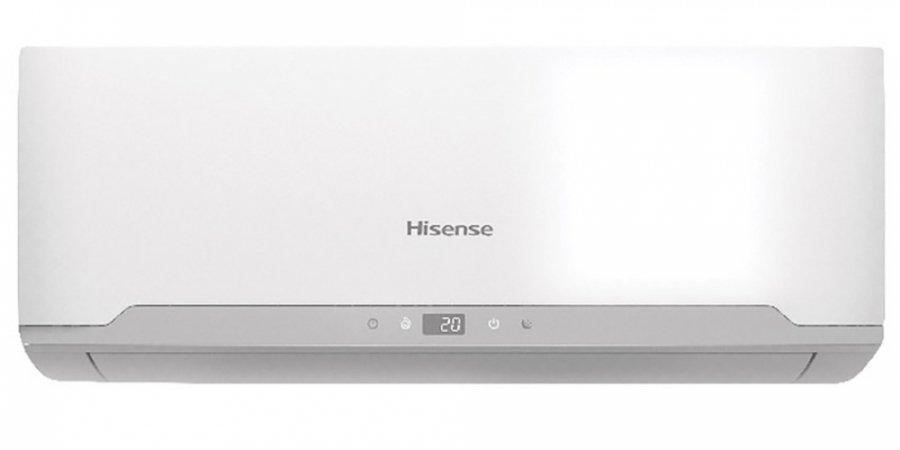 Настенный кондиционер Hisense AS-12HR4SVDDH1G/AS-12HR4SVDDH1W35 м? - 3.5 кВт<br>Кондиционер Hisense (Хайсенс) AS-12HR4SVDDH1G/AS-12HR4SVDDH1W &amp;mdash; это новинка на рынке климатической техники, которая требует внимания не только тех, кому очень важная визуальная составляющая оборудования, но и тех, кого в первую очередь интересует функционал и высокие технические характеристики. Устройство имеет обширный список различных режимов, которые будут полезны в самых различных условиях.<br>Особенности рассматриваемой модели настенного кондиционера серии Hisense &amp;nbsp;&amp;laquo;Серия ECO CLASSIC A&amp;raquo;:<br><br>Новинка 2016 года!<br>Классическая сплит-система.<br>Стильный облик, компактные установочные размеры.<br>Минимальные шумовые характеристики.<br>Удобочитаемый Led дисплей.<br>Функция I Feel.<br>Режим Smart.<br>Режим Sleep.<br>Форсированный Turbo режим.<br>Таймер на 24 часа на включение, выключение и сон.<br>Низкий уровень шума.<br>РР фильтр.<br>Отключение дисплея внутреннего блока (DIMMER).<br>Режим работы жалюзи: по вертикали, по горизонтали, память настроек жалюзи.<br>Озонобезопасный фреон.<br>Энергоэффективность высокого класса &amp;laquo;А&amp;raquo;.<br>Комплектуется пультом ДУ с дисплеем.<br><br>Серия ECO CLASSIC A от Hisense представляет модельный ряд настенных кондиционеров с высокими техническими характеристиками, низким уровнем шума, лаконичной конструкцией и значительным набором полезных режимов и функций. Каждый из этих приборов &amp;mdash; новинка в мире климатической техники, способная создавать и поддерживать определенные температурные условия.<br><br>Горизонтальная регулировка потока: Нет<br>Страна бренда: Китай<br>Уровень шума, дБа: 55<br>Габариты ВхШхГ, см: 48,2x71,5x24<br>Производитель: Китай<br>Вес, кг: 26<br>Компрессор: Не инвертор<br>Площадь, м?: 35<br>Уровень шума, дБа: 39<br>Режим работы: холод/тепло<br>Габариты ВхШхГ, см: 27x74,5x21,4<br>Охлаждение, кВт: 3,2<br>Вес, кг: 8<br>Обогрев, кВт: 3,2<br>Потребление при охлаждении, кВт: 0,