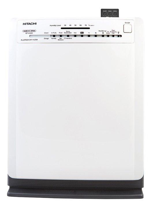 Очиститель воздуха Hitachi EP-A5000 (WH)Очистка + Увлажнение<br>Hitachi (Хитачи) EP-A5000 (WH) произведет качественную очистку воздуха в помещении, площадь которого достигает тридцати трех квадратных метров. Помимо этого, устройство увлажнит воздух, создавая еще больше комфорта. Стоит отметить, что пользователю не доставит проблем облуживание агрегата: в среднем срок службы очищающего фильтра составляет около семи лет, а увлажняющий будет работать без нареканий три года.<br>Особенности и преимущества климатических комплексов Hitachi серии EP-A:<br><br>Технология Stainless Clean<br>Фильтр предварительной очистки<br>Сверхтихая работа<br>Инверторный двигатель<br>Электронное управления<br>Пульт дистанционного управления<br>Датчики запаха, пыли, влажности<br><br>Hitachi серии EP-A   это многофункциональные гаджеты, которые созданы специально для комфортного микроклимата в доме или офисе. Устройства с легкостью производят очищение воздуха от самых мельчайших загрязняющих частиц с помощью HEPA-фильтра, устраняют неприятные запахи и аллергены. Одновременно с этим агрегаты могут производить увлажнение воздуха, чтобы поддерживать оптимальный водный баланс. Режимы работы задаются очень просто: с помощью дистанционного пульта или эргономичной панели управления. <br><br>Страна: Япония<br>Производитель: Япония<br>S очистки, м?: 33<br>S увлажнения, м?: 33<br>Воздухообмен, мsup3;/ч: 300<br>Колво режимов работы: 6<br>Сенсоры качества воздуха: Нет<br>Газоанализатор: Нет<br>Датчик пыли: Нет<br>Предварительный фильтр: Нет<br>НЕРАфильтр: Да<br>Угольный фильтр: Нет<br>Электростатичный фильтр: Нет<br>Плазменный фильтр: Нет<br>Фотокаталитический фильтр: Да<br>Питание, В: 220 В<br>УФ лампа: Нет<br>Ионизация: Нет<br>Антибактерицидный фильтр: Нет<br>Пульт Д/У: Да<br>Расход воды, мл/ч: 520<br>Шум, дБа: 50<br>Гигрометр: Да<br>Мощность, Вт: 50<br>Объем бака, л: 2,5<br>Габариты ВхШхГ, см: 53,7x43x24,2<br>Вес, кг: 9<br>Гарантия: 1 год<br>Ширина мм: 430<br>Высота мм: 537<br>Глубина мм: 242
