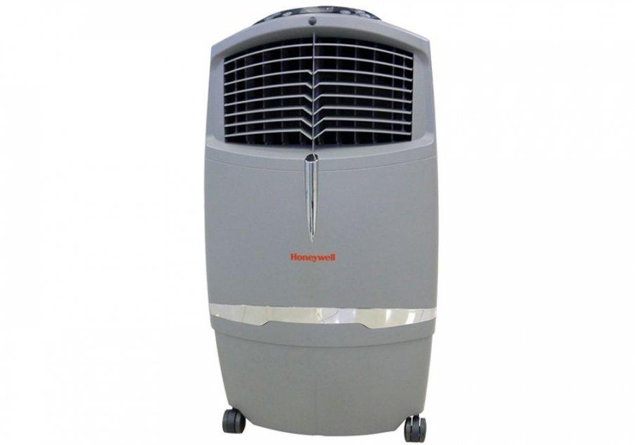 Мобильный кондиционер без воздуховода Honeywell CL30XC2.6 кВт<br>Надёжные мобильные климатические установки Honeywell CL30XC обеспечивают абсолютную экологичность в <br>применении. Благодаря свои экологическим показателям, они могут быть использованы в детских помещения. Приборы абсолютно экономичны при должном наборе функций: максимальная мощность потребления в режимах вентиляции и охлаждения составляет всего 252 Вт. Климатические установки Honeywell CL30XC подойдут для увлажнения воздуха в помещениях с площадью порядка 30 квадратных метров.<br>Режимы работы прибора:<br><br>Охлаждение воздуха.<br>Вентиляция.<br>Увлажнение воздуха.<br>Очищение (мойка) воздуха.<br><br>Основные особенности модели:<br><br>Максимальная скорость воздухообмена - 900куб.м/ч;<br>Трёхступечатая очистка воздуха с помощью сотового, углеродистого, целюлозно-бумажного моющегося фильтров. (Расчётный срок работы сотового фильтра составляет 4 года при постоянной работе.<br>Возможность управления с пультом ДУ и электронной панелью управления.<br>Ёмкость для воды -10 литров.<br>Четыре скорости рабоы.<br>Возможность изменять направление воздушного потока.<br>Автоматическая система защиты.<br>Звуковая сигнализация при низком уровне воды.<br>Таймер отключения 0,5 8 часов.<br><br>Все приборы Honeywell снабжены системами защиты от перепада напряжения и перегрева. Климатические установки Honeywell CL30XC компакты и мобильны в обращении, выполнены в оригинальном стильном элегантном дизайне и смогут гармонично дополнить любой интерьер. Прибор легко устанавливается на полу и благодаря своей компактности не займёт много места.<br><br>Страна: США<br>Охлаждение,кВт: None<br>Обогрев, кВт: Нет<br>Площадь, м?: 35<br>Потребление при охл., кВт: 0,252<br>Потребление при обогреве, кВт: Нет<br>Расход воздуха, мsup3;/ч: 900<br>Уровень шума, дБа: 30<br>Отвод конденсата: Сбор в бак<br>Осушение воздуха: Нет<br>Приток свежего воздуха: Нет<br>Беструбный: Да<br>Хладагент: Нет<br>ГабаритыШВГ,мм: 460x870х350<br>Вес, кг: 12<br>Га