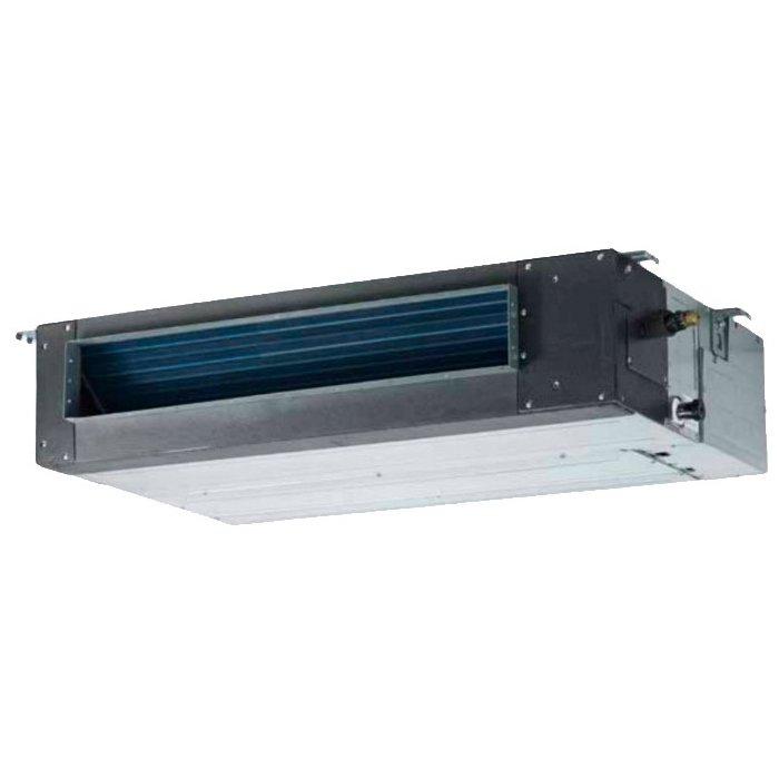 Канальный кондиционер Hyundai7.0 кВт - 24 BTU<br>Новейший профессиональный кондиционер канального типа модели Hyundai (Хендай) H-ALD3-24H исполнен из высокопрочных материалов и устойчив к агрессивному воздействию коррозии. Рассматриваемое оборудование можно использовать для эффективной вентиляции помещений; также кондиционер идеально подходит для работы в холодном климате при отрицательных температурах уличного воздуха.<br>Особенности и преимущества кондиционеров Hyundai представленной серии:<br><br>Встроенный зимний комплект LAK для эксплуатации в холодное время до -17 С<br>Средненапорные до 100 Па<br>Внутрирельефная система медных труб с повышенным коэффициентом теплообмена<br>Быстрый выход на максимальную мощность по охлаждению одним нажатием кнопки Super<br>Режим вентиляции без понижения температуры в помещении<br>Автоматический поиск и поддержание комфортной температуры Auto<br>Автоматический авторестарт при возобновлении электропитания<br><br>При создании передовых полупромышленных кондиционеров Hyundai серии PRO-JECT / 3 были использованы инновационные технологии, которые позволил добиться несравненной производительности и эффективности оборудования, а также существенно увеличить срок их эксплуатации. Промышленные системы используются на объектах разного назначения и отличаются высокой устойчивостью к воздействиям. <br><br>Страна: Корея<br>Охлаждение, кВт: 7.03<br>Обогрев, кВт: 7.62<br>Компрессор: Не инвертор<br>Площадь, м?: 70<br>Потребляемая мощность охлаждения, Квт: 2.5<br>Потребляемая мощность обогрева, Квт: 2.45<br>Воздухообмен, мsup3;/ч: 1330<br>Габариты внеш. блока ВШГ: 650x900x310<br>Осушение, л/час: None<br>Габариты внут. блока, ВШГ: 840x840x230<br>Уровень шума внеш/внутр.б., Дба: 60/40<br>Вес внеш. блока, Кг: 54<br>Вес внутр. блока, Кг: 27<br>Длина трассы, м: Нет<br>Режимы работы: Холод / тепло<br>Режим приточной вентиляции: Нет<br>Сенсор движения: Нет<br>Фильтры тонкой очистки воздуха: Нет<br>Гарантия: 2 года
