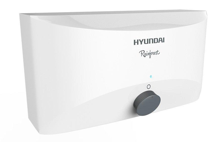 Водонагреватель Hyundai H-IWR1-3P-UI058/CS3.5 кВт<br>Hyundai H-IWR1-3P-UI058/CS &amp;ndash; это электрический водонагреватель проточного типа от известного бренда. Представленная модель сможет в неограниченном количестве обеспечить ваш дом горячей водой в любое время суток. Из достоинств представленного прибора для нагрева воды стоит отметить удобство его эксплуатации, полную безопасность использования, высококачественное исполнение и привлекательный современный дизайн.<br><br>Основные преимущества тэновых проточных водонагревателей серии Rainforest:<br><br>Медный нагревательный элемент.<br>Возможность выбора одного из трех режимов мощности у моделей 5500 Вт и 6500 Вт.<br>Электрический шнур с вилкой у моделей мощностью 3500 Вт.<br>Легкость подключения к водопроводу.<br>Сетчатый фильтр на входе холодной воды.<br>Интуитивное управление с помощью универсальной ручки-регулятора.<br>Система безопасности: датчик давления и термоограничитель.<br>Ярко-голубой индикатор подключения прибора к электросети.<br>Транспортировочные крышки ярко-красного цвета на обоих патрубках.<br><br>&amp;nbsp;<br>Вдохновившись необыкновенной свежей красотой дождевых лесов, корейские специалисты &amp;ndash; технологи и дизайнеры &amp;ndash; компании Hyundai объединились и создали серию мощных проточных водонагревателей Rainforest. Их лаконичный и стильный современный дизайн, корпус белого цвета удачно дополнят интерьер ванной комнаты или кухни. Небольшие размеры приборов представленной линейки позволят с удобством разместить их даже в помещениях с ограниченным пространством. Стоит отметить, что серия представлена несколькими моделями разной мощности, благодаря чему каждый из пользователей сможет подобрать для себя наиболее подходящий прибор.<br><br>Страна: Корея<br>Темп. нагрева, С: 85<br>Способ нагрева: Электрический<br>Производительность: 2,3<br>Мощность, кВт: 3,5<br>Защита от перегрева: Есть<br>LCD дисплей: None<br>Управление: Механическая<br>Тип установки: Горизонтальная<br>Подводка: Нижняя<b