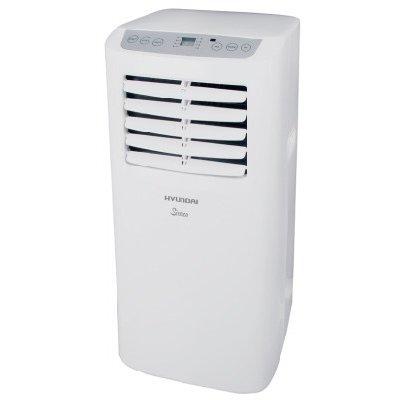 Мобильный кондиционер Hyundai H-PAC-07C1UR82.6 кВт<br>Компактный и стильный мобильный кондиционер с высокоэффективным компрессором и эргономичной конструкцией Hyundai (Хендай) H-PAC-07C1UR8 &amp;mdash; это многофункциональное устройство, которое оснащено режимами осушения, охлаждения и вентиляции без понижения температуры воздуха. Рекомендуемая площадь помещения, в котором будет работать представленное устройство: 20 квадратных метров.<br>Основные достоинства рассматриваемой модели мобильного кондиционера:<br><br>Охлаждение, вентиляция, осушение 3 в 1<br>Быстрое охлаждение до 16 градусов<br>Компактный размер<br>Возможность работы в режиме вентиляции без понижения<br>температуры<br>Высокоэффективный компрессор<br>Таймер на включение и отключение 24 часа<br>Автоматическое испарения конденсата<br>Надежное механическое управление<br>Моющийся воздушный фильтр<br>Мощный воздушный поток<br>Экологичный хладагент R410A<br>Ролики для удобного перемещения<br><br>Мобильные кондиционеры серии SIROCCO от Hyundai отличаются многофункциональностью и высокой энергоэффективностью, могут выполнять не только быстрое охлаждение до 16 градусов, но и осуществлять вентиляцию и осушение помещения для создания благоприятных климатических условий высокого уровня комфорта. Модели из линейки оснащены моющимся воздушным фильтром. &amp;nbsp;<br><br>Страна: Корея<br>Охлаждение,кВт: 2,1<br>Обогрев, кВт: Нет<br>Площадь, м?: 20<br>Потребление при охл., кВт: 0,76<br>Потребление при обогреве, кВт: Нет<br>Расход воздуха, мsup3;/ч: 320<br>Уровень шума, дБа: 53<br>Отвод конденсата: Дренажная трубка<br>Осушение воздуха: Есть<br>Приток свежего воздуха: Нет<br>Беструбный: Нет<br>Хладагент: R410A<br>ГабаритыШВГ,мм: 305x328x678<br>Вес, кг: 20<br>Гарантия: 2 года