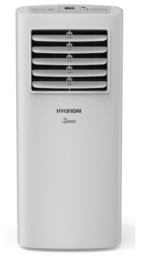 Мобильный кондиционер Hyundai H-PAC-09C1UR82.6 кВт<br>Высокоэффективный напольный кондиционер мобильного типа Hyundai (Хендай) H-PAC-09C1UR8 представляет собой многофункциональное устройство, способное не только на охлаждение различных помещений, но и на осуществление осушения и вентиляции, что помогает добиться еще лучших результатов в вопросе поддержания оптимального климатического режима. В работе используется экологичный хладагент.<br>Основные достоинства рассматриваемой модели мобильного кондиционера:<br><br>Охлаждение, вентиляция, осушение 3 в 1<br>Быстрое охлаждение до 16 градусов<br>Компактный размер<br>Возможность работы в режиме вентиляции без понижения<br>температуры<br>Высокоэффективный компрессор<br>Таймер на включение и отключение 24 часа<br>Автоматическое испарения конденсата<br>Надежное механическое управление<br>Моющийся воздушный фильтр<br>Мощный воздушный поток<br>Экологичный хладагент R410A<br>Ролики для удобного перемещения<br><br>Мобильные кондиционеры серии SIROCCO от Hyundai отличаются многофункциональностью и высокой энергоэффективностью, могут выполнять не только быстрое охлаждение до 16 градусов, но и осуществлять вентиляцию и осушение помещения для создания благоприятных климатических условий высокого уровня комфорта. Модели из линейки оснащены моющимся воздушным фильтром.  <br><br>Страна: Корея<br>Охлаждение,кВт: 2,4<br>Обогрев, кВт: Нет<br>Площадь, м?: 25<br>Потребление при охл., кВт: 0,88<br>Потребление при обогреве, кВт: Нет<br>Уровень шума, дБа: 53<br>Расход воздуха, мsup3;/ч: 320<br>Отвод конденсата: Дренажная трубка<br>Осушение воздуха: Есть<br>Приток свежего воздуха: Нет<br>Беструбный: Нет<br>Хладагент: R410A<br>ГабаритыШВГ,мм: 305x328x678<br>Вес, кг: 21<br>Гарантия: 2 года