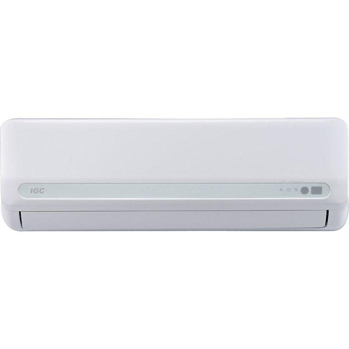 Настенный кондиционер IGC RAC 18WHQ55 м? - 5.5 кВт<br>IGC RAC 18WHQ&amp;nbsp;&amp;ndash; это кондиционер настенного типа нового поколения, который имеет множество полезных функций. Так, например, прибор способен осуществлять&amp;nbsp; глубокую очистку воздуха от разного рода примесей, в том числе и опасных для здоровья человека. Также доступен ночной режим работы, при котором температура регулируется автоматически. Внутренний блок имеет настенный вариант размещения, для управления комплектацией предусмотрен пульт ДУ.<br>Особенности рассматриваемой модели настенного кондиционера серии Neo:<br><br>Новинка сезона!<br>Энергоэффективность класса А.<br>Быстрое охлаждение воздуха в помещении.<br>Антиформальдегидный фильтр.<br>Функция Follow me.<br>Функция самоочистки.<br>Датчик утечки хладагента.<br>Запоминание положения жалюзи.<br>Отвод дренажа с 2х сторон.<br>Авторестарт.<br>Режим сна.<br>Функция автоматического перезапуска оборудования.<br>LED дисплей.<br>Эффективный вентилятор.<br>Озонобезопасный фреон.<br>Усовершенствованное &amp;nbsp;воздухораспределение.<br>В комплекте поставляется многофункциональный пульт ДУ.<br>Компактность кондиционера.<br>Современный дизайн климатического оборудования.<br>Легкость в эксплуатации.<br>Гарантия на компрессор &amp;ndash; 5 лет.<br><br>Новая серия кондиционеров &amp;laquo;Neo&amp;raquo; от торговой марки IGC &amp;ndash; это ультракомфортные в использовании, эффективные и многофункциональные устройства. Семейство представлено пятью моделями различной мощности, так что каждый сможет подобрать прибор под объем своего помещения. Одной из многочисленных особенностей кондиционеров серии &amp;laquo;Neo&amp;raquo;&amp;nbsp; является наличие в системе управления функции Follow me, которая позволяет создать наиболее комфортную зону в месте, где расположился пользователь.&amp;nbsp;<br><br>Горизонтальная регулировка потока: Нет<br>Страна бренда: Великобритания<br>Уровень шума, дБа: 58<br>Габариты ВхШхГ, см: 59x76x28,5<br>Производитель: Китай<br