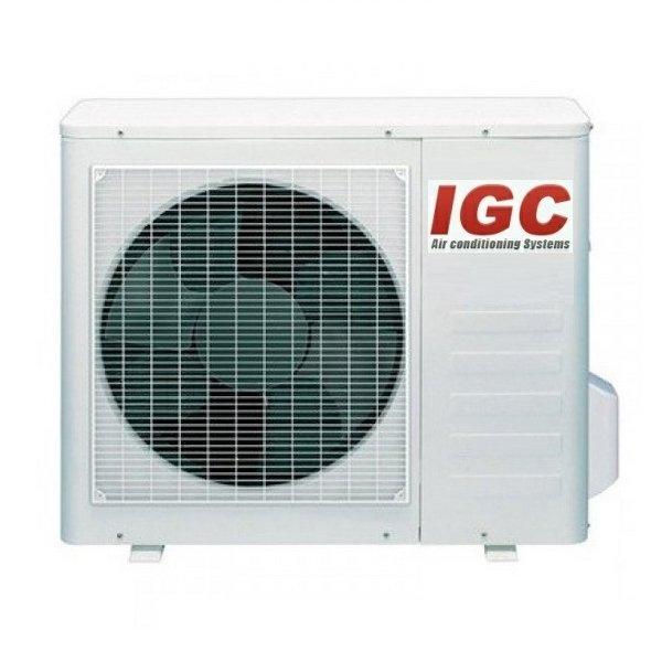 Мульти сплит система IGC RAM2-20UNH2 комнаты<br>Наружный блок мульти сплит-систем IGC RAM2-20UNH &amp;mdash; важная составляющая кондиционера воздуха, которая позволяет подключить до двух внутренних блоков &amp;mdash; это даст возможность осуществить охлаждение или дополнительный обогрев сразу в нескольких помещениях индивидуального дома или загородного жилища. Производитель предусмотрел инверторный компрессор, увеличивающий эффективность работы.<br>Особенности и преимущества мульти сплит-систем IGC<br><br>Компрессор GMCC.<br>Класс энергоэффективности: &amp;laquo;А&amp;raquo;.<br>I&amp;nbsp;Класс электрозащиты.<br>Степень защиты:&amp;nbsp;IPX4.<br>Антикоррозийное покрытие теплообменника наружного блока.<br>Низкий уровень шума.<br>Компактные размеры.<br>Технологичный монтаж.<br>Функция горячего запуска.<br>Режим комфортного сна.<br>Суточный программируемый таймер.<br>Режим форсированного охлаждения.<br>Эргономичный пульт дистанционного управления.<br>Функция самодиагностики.<br>Функция автоматического перезапуска.<br>Моющийся воздушный фильтр.<br>Регулировка скорости вращения вентилятора.<br>Режим осушения.<br>Озонобезопасный хладагент.<br><br>Если ваша квартира, индивидуальный дом, загородное жилище или коттедж нуждаются в кондиционировании воздуха, в создании и поддержании благоприятного климатического режима внутри бытовых помещений, то идеальным решением станет установка мульти сплит-системы IGC серии Freematch. В обширный модельный ряд входят внешние и внутренние блоки различного типа, что позволит подключить к работе сразу несколько кондиционеров.<br>&amp;nbsp;<br><br>Страна: Великобритания<br>Охлаждение вн.блока,кВт: None<br>Производитель: Великобритания<br>Обогрев вн.блока, кВт: None<br>Площадь вн.блока, м?: None<br>Компрессор: Инвертор<br>Площадь, м?: 55<br>Режим работы: холод/тепло<br>Охлаждение,кВт: 5,8<br>Обогрев, кВт: 6,4<br>Потребление при охлаждении, кВт: 1,7<br>Потребление при обогреве, кВт: 1,75<br>Охлаждающая способность, тыс btu: 20<br>Диапазон t н