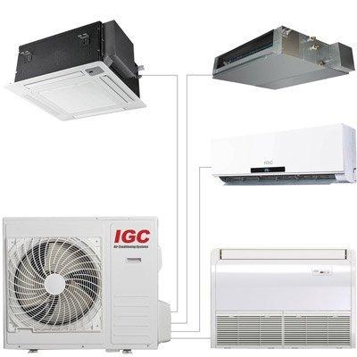 Мульти сплит система IGC RAM3-24UNH3 комнаты<br>Наружный блок мульти сплит-систем IGC RAM3-24UNH рассчитан на подключение четырех внутренних блоков, что обеспечит пользователя возможностью обогреть или охладить воздух сразу в нескольких помещениях, создать и поддерживать в квартире, загородном доме или коттедже благоприятные климатические условия. Внутри данного оборудования расположен инверторный компрессор, теплообменник и мотор вентилятора усовершенствованной конструкции.<br>Особенности и преимущества мульти сплит-систем IGC<br><br>Компрессор GMCC.<br>Класс энергоэффективности: &amp;laquo;А&amp;raquo;.<br>I&amp;nbsp;Класс электрозащиты.<br>Степень защиты:&amp;nbsp;IPX4.<br>Антикоррозийное покрытие теплообменника наружного блока.<br>Низкий уровень шума.<br>Компактные размеры.<br>Технологичный монтаж.<br>Функция горячего запуска.<br>Режим комфортного сна.<br>Суточный программируемый таймер.<br>Режим форсированного охлаждения.<br>Эргономичный пульт дистанционного управления.<br>Функция самодиагностики.<br>Функция автоматического перезапуска.<br>Моющийся воздушный фильтр.<br>Регулировка скорости вращения вентилятора.<br>Режим осушения.<br>Озонобезопасный хладагент.<br><br>Если ваша квартира, индивидуальный дом, загородное жилище или коттедж нуждаются в кондиционировании воздуха, в создании и поддержании благоприятного климатического режима внутри бытовых помещений, то идеальным решением станет установка мульти сплит-системы IGC серии Freematch. В обширный модельный ряд входят внешние и внутренние блоки различного типа, что позволит подключить к работе сразу несколько кондиционеров.<br><br>Страна: Великобритания<br>Охлаждение вн.блока,кВт: None<br>Производитель: Великобритания<br>Обогрев вн.блока, кВт: None<br>Компрессор: Инвертор<br>Площадь вн.блока, м?: None<br>Площадь, м?: 70<br>Режим работы: холод/тепло<br>Уровень шума, дБа: 57<br>Охлаждение,кВт: 7,0<br>Горизонтальная регулировка потока: Нет<br>Обогрев, кВт: 8,0<br>Габариты ВхШхГ, см: 64x98x35<br>Потребление при о