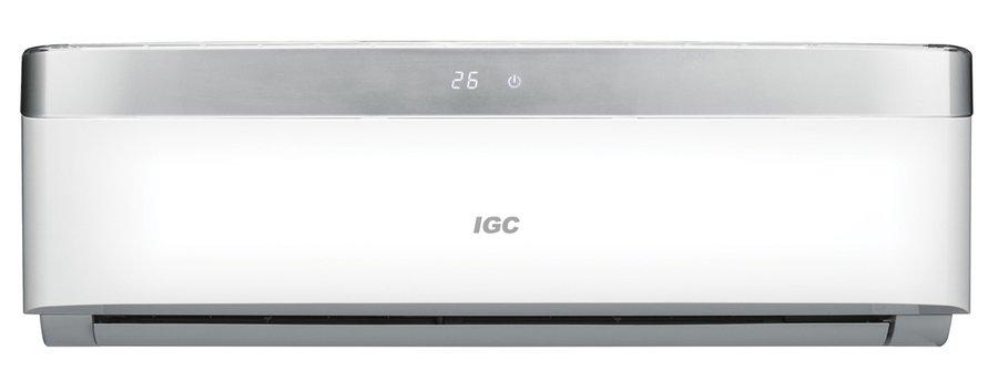 Настенный кондиционер IGC RAS/RAC-V24NHS70 м? - 7 кВт<br>Климатическая техника IGC RAS/RAC-V24NHS &amp;mdash; это сплит-система бытового назначения, которая гарантирует качественный и эффективный обогрев и охлаждение в зависимости от потребностей пользователя и членов его семьи на данный момент. Кроме этих функций, кондиционер имеет режим вентиляции, который позволит равномерно распределить воздушный поток по помещению.<br>Особенности рассматриваемой модели настенного кондиционера серии Solo DC Inverter:<br><br>Новинка сезона!<br>Инверторная технология.<br>Энергоэффективность класса А.<br>Быстрое охлаждение воздуха в помещении.<br>Великолепный дизайн.<br>3D забор воздуха.<br>LED панель.<br>Катехиновый фильтр.<br>Фотокаталитический фильтр.<br>Ионизатор.<br>Эффективный вентилятор.<br>Озонобезопасный фреон.<br>Вертикальная регулировка положения жалюзи.<br>Горизонтальная регулировка положения жалюзи.<br>Усовершенствованное &amp;nbsp;воздухораспределение.<br>В комплекте поставляется многофункциональный пульт ДУ.<br>Компактность кондиционера.<br>Современный дизайн климатического оборудования.<br>Легкость в эксплуатации.<br>Гарантия на компрессор &amp;ndash; 5 лет.<br><br>Кондиционеры серии Solo DC inverter &amp;nbsp;от одного из ведущих производителей Великобритании &amp;ndash;&amp;nbsp; компании IGC изготовлены с применением современных материалов и технологий. Все модели исполнены в стильном дизайне, который идеально дополнит собой любой современный интерьер помещения. Высокая точность в поддержании заданных параметров функционирования достигается благодаря наличию в конструкциях инверторных компрессоров. Приборы потребляют минимум электроэнергии &amp;ndash; энергоэффективность класса &amp;laquo;А&amp;raquo;.&amp;nbsp;<br><br>Горизонтальная регулировка потока: Ручная<br>Уровень шума, дБа: 58<br>Страна бренда: Великобритания<br>Габариты ВхШхГ, см: 62,9x83x28,5<br>Производитель: Китай<br>Вес, кг: 45<br>Компрессор: Инвертор<br>Площадь, м?: 70<br>Уровень шума, дБа: 38<br>Ре