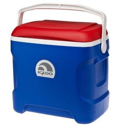 Изотермический контейнер Igloo Contour 30Qt Патриот21-30 литров<br>Надоело думать, какую еду взять с собой на природу, чтобы она не испортилась на жаре? Надоело искать повсюду водоемы, чтобы по- старинке повесить охлаждаться пиво в пакетике и следить, чтоб оно не уплыло? Идеальным решением для вас станет термоконтейнер Igloo Contour 30Qt Патриот. Удобный при транспортировке благодаря широкой ручке, а так же дополнительным углублениям по бокам. Оптимизированная форма днища позволяет минимизировать соприкосновение с нагретой поверхностью. При использовании аккумулятора температуры позволяет сохранить температуру внутри до24 часов.<br>Основные преимущества приобретения изотермической емкости от торговой марки Igloo:<br><br>Современный привлекательный дизайн.<br>Удобные для транспортировки размеры.<br>Удобные ручки, упрощающие перенос контейнеров.<br>Есть модели с защелками на крышках и без.<br>Резьбовая сливная пробка для отвода конденсата.<br>Двойная пенная UltraTherm &amp;reg; изоляция корпуса и крышки позволяет поддерживать хранить лед &amp;nbsp;до 5 дней при температуре окружающей среды не более + 30&amp;deg; .<br>Разнообразные цветовые решения.<br>Идеальны для любителей активного отдыха, рыбалки, охоты и путешествий.<br><br>Изотермическая продукция в настоящее время набирает обороты популярности. Одним из ведущих производителей в данной сфере является американская компания Igloo, которая достаточно давно уже зарекомендовала себя, как изготовителя только качественной, практичной, долговечной и полезной продукции. Ассортимент невероятно широк и разнообразен. Здесь есть и емкости для напитков, и сумки с изотермическими свойствами и различного типа и конфигурации термо-контейнеры.&amp;nbsp;&amp;nbsp;<br><br>Страна: США<br>Объем, л: 28,0<br>Мощность, Вт: Нет<br>Питание, В: Нет<br>Max температура, C: Нет<br>Min температура, C: Нет<br>Функция подогрева: Нет<br>Дельта t, C: Нет<br>Кабель питания: Нет<br>Назначение: Изотермический контейнер<br>ГабаритыВШД,мм: 470x430x270<b