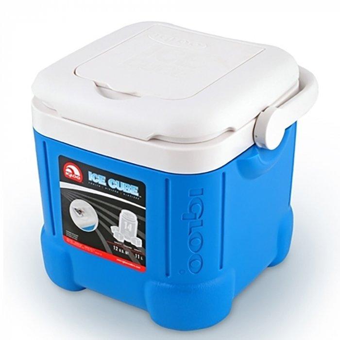 Изотермический контейнер Igloo Ice Cube 1411-20 литров<br>Изотермическая сумка-контейнер Igloo Ice Cube 14 идеальный помощник в сохранении для вас свежести продуктов и охлаждении напитков во время загородных поездок, пикников, рыбалок или пляжного отдыха. Компактный и удобный контейнер обладает объемом 11,4 л. При использовании с аккумулятором холода способен сохранить температуру внутри до 24 часов. Специальная форма днища позволяет минимизировать соприкосновение с поверхностью земли, тем самым снижая потерю холода контейнером. В крышке расположено отделение для различных мелочей.<br>Основные преимущества приобретения изотермического контейнера от торговой марки Igloo:<br><br>Современный привлекательный дизайн.<br>Удобные для транспортировки размеры.<br>Уникальная кубическая форма нового контейнера Igloo.<br>Изоляция Ultratherm корпуса и крышки позволяет максимально долго удерживать холод.<br>Ручка сделана более широкой, чтобы облегчить переноску контейнера.<br>Съемная крышка.<br>В крышке некоторых моделей имеется встроенное отделение для ключей, телефона.<br>Сохранение температурного режима до 24 часов.<br>Рекомендуется использовать с аккумуляторами холода.<br>Разнообразные конструктивные решения.<br>Идеальны для любителей активного отдыха, рыбалки, охоты и путешествий.<br><br>Для того, чтобы сделать отдых на природе, поездку на яхте или просто вечеринку на открытом воздухе&amp;nbsp; еще комфортней, торговая марка Igloo разработала серию специальных термоконтейнеров&amp;nbsp; ICE CUBE. Все модели семейства имеют небольшие для такого типа изделий габаритные размеры, оборудованы ручками для удобства транспортировки. Для достижения максимальной эффективности производитель рекомендует использовать аккумуляторы холода (необходимо приобрести отдельно).&amp;nbsp;<br><br>Страна: США<br>Объем, л: 11,4<br>Мощность, Вт: Нет<br>Питание, В: Нет<br>Max температура, C: Нет<br>Min температура, C: Нет<br>Функция подогрева: Нет<br>Дельта t, C: Нет<br>Кабель питания: Нет<br>Назначен