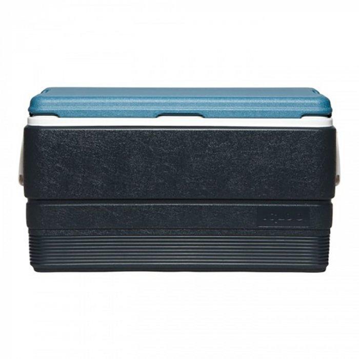 Термоэлектрический автохолодильник Igloo MaxCold Legend 70свыше 40 литров<br>Изотермический контейнер объемом 66 литров модели Igloo (Иглу) MaxCold Legend 70 имеет простую и удобную конструкцию и оборудован двумя небольшими ручками, обеспечивающими комфорт при транспортировки. В таком контейнере можно хранить большое количество продуктов, а также охлаждать различные напитки, если вы устраиваете вечеринку под открытым небом.<br>Основные преимущества приобретения изотермического контейнера от торговой марки Igloo:<br><br>Современный привлекательный дизайн.<br>Удобные для транспортировки размеры.<br>Удобные ручки, упрощающие перенос контейнеров.<br>Есть модели с защелками на крышках и без.<br>Резьбовая сливная пробка для отвода конденсата.<br>Двойная пенная UltraTherm &amp;reg; изоляция корпуса и крышки позволяет поддерживать хранить лед &amp;nbsp;до 5 дней при температуре окружающей среды не более + 30&amp;deg; .<br>Разнообразные цветовые решения.<br>Идеален для любителей активного отдыха, рыбалки, охоты и путешествий.<br><br>MAXCOLD &amp;ndash; это серия современных изотермических контейнеров, которые предназначены для хранения холодных продуктов. Материалы изготовления и габаритные размеры позволяют брать модели семейства на рыболовную лодку, на яхту или просто на какие-либо мероприятия на открытом воздухе. Для максимально длительного использование производитель рекомендует наполнить контейнер льдом, который не растает там около 5 дней благодаря качественному слою надежной изоляции.&amp;nbsp;<br><br>Страна: США<br>Объем, л: 66,0<br>Мощность, Вт: Нет<br>Питание, В: Нет<br>Max температура, C: Нет<br>Min температура, C: Нет<br>Функция подогрева: Нет<br>Дельта t, C: Нет<br>Кабель питания: Нет<br>Назначение: Изотермический контейнер<br>ГабаритыВШД,мм: 360x460x700<br>Вес, кг: 3<br>Гарантия: 1 год