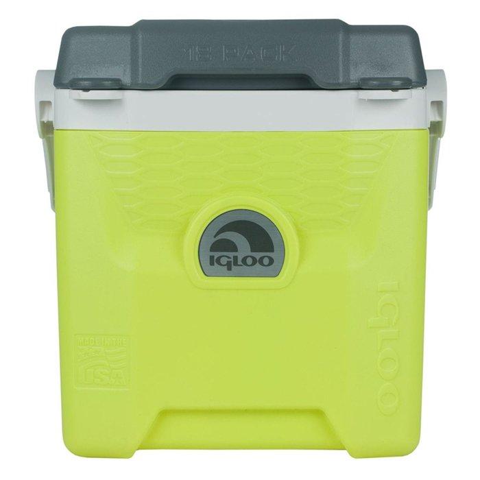 Термоэлектрический автохолодильник Igloo Quantum 18 желтый11-20 литров<br>Сумка-термос Igloo (Иглу) Quantum 18 желтый представляет собой небольшой, но вместительный (11л) контейнер, позволяющий поддерживать температуру хранимых в нем продуктов, а также охлаждать их. Рассматриваемый контейнер имеет ручку для удобной транспортировки, а также изготовлен из жестких и прочных материалов и не боится внешнего воздействия.&amp;nbsp;<br>Основные преимущества приобретения изотермического контейнера от торговой марки Igloo:<br><br>Современный привлекательный дизайн.<br>Удобные для транспортировки размеры.<br>Усиленная поворотная ручка, которую можно зафиксировать.<br>Наличие поддона для слива излишней жидкости.<br>Высокое европейское качество материалов изготовления.<br>Простота в уходе и использовании.<br>Разнообразные цветовые решения.<br>Идеален для любителей активного отдыха, рыбалки, охоты и путешествий.&amp;nbsp;&amp;nbsp;&amp;nbsp;&amp;nbsp;&amp;nbsp;&amp;nbsp;&amp;nbsp;&amp;nbsp;&amp;nbsp;&amp;nbsp;&amp;nbsp;<br><br>Изотермические пластиковые контейнеры Igloo &amp;mdash; это отличное решение для тех, кто любит дальние путешествия, пикники, рыбалку, часто осуществляет поездку на концерты, соревнования и другие мероприятия. Данные изделия из экологически чистых материалов будут поддерживать различные жидкости и напитки охлажденными или горячими &amp;mdash; в зависимости от функций и задач конкретной модели.<br><br>Страна: США<br>Объем, л: 15,2<br>Мощность, Вт: Нет<br>Питание, В: Нет<br>Max температура, C: Нет<br>Min температура, C: Нет<br>Функция подогрева: Нет<br>Дельта t, C: Нет<br>Кабель питания: Нет<br>Назначение: Изотермический контейнер<br>ГабаритыВШД,мм: 403x259x378<br>Вес, кг: 2<br>Гарантия: 6 месяцев