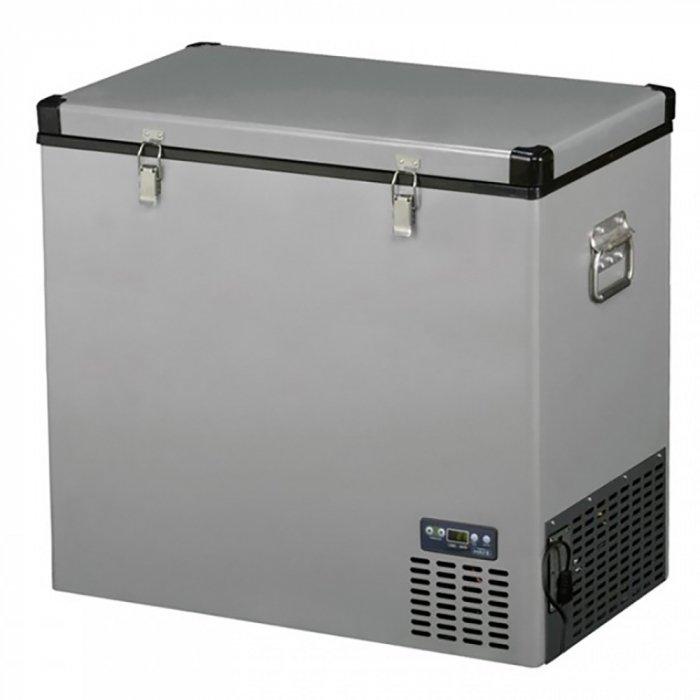 Компрессорный автохолодильник Indel B TB13041-140 литров<br>Автомобильный холодильник большого объема IndelB ТВ130 оснащен качественными комплектующими деталями, которые облачены в прочный корпус из истовой стали. Рассматриваемая модель имеет один отсек для охлаждения или заморозки напитков и продуктов. Прибор оснащен эффективной теплоизоляцией, которая гарантирует экономичность в расходе электроэнергии и сохранность продуктов.<br>Основные характеристики представленной модели:<br><br>один отсек с температурным охлаждением.<br>дисплей для выбора температурного режима (холодильник или морозильник).<br>отличная теплоизоляция.<br>высокая производительность.<br>эффективное охлаждение.<br>автоматическое поддержание заданной температуры.<br>регулировка рабочей температуры.<br>герметичный компрессор.<br>надёжный термостат.<br>автоматическое поддержание заданной температуры.<br>безопасный хладагент.<br>бесшумная работа.<br>внутренняя подсветка.<br>корпус и крышка из окрашенной листовой стали, защищены пластиковыми углами.<br>удобные ручки для переноски.<br>могут устанавливаться двух литровые бутылки в вертикальном положении.<br>защитное отключение.<br>стильный дизайн.<br><br> <br>В длительных поездках, деловых или туристических, сложно обойтись без полноценного питания, но трудно сохранить продукты свежими. С легкостью решить эту задачу помогут автомобильные холодильники от итальянской компании-производителя INDEL B серии TRAVEL BOX. Эти мобильные холодильники весьма удобны в перевозке и использовании, а модельный ряд представлен таким разнообразием приборов, что каждый любитель автопутешествий или профессиональный водитель найдет для себя что-то по вкусу. Оборудование представленной линейки долгие годы будет безукоризненно работать и радовать любителей и ценителей полноценного обеда. Автохолодильники TRAVEL BOX   это оптимальное сочетание привлекательной цены и высокого качества!<br><br>Страна: Италия<br>Объем, л: 130<br>Мощность, Вт: 65<br>Питание, В: 12/24<br>Max температ
