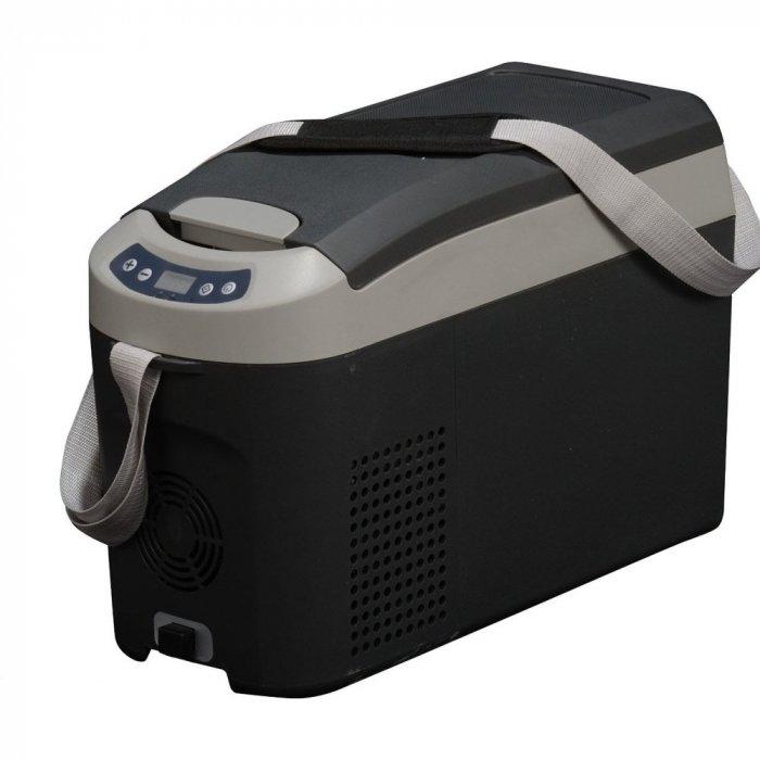 Aвтохолодильник компрессорный Indel B TB15до 30 литров<br>IndelB ТВ15   это компактный и удобный автохолодильник компрессорный на 12 вольт, который будет полезен всем, кто проводит много времени, а также для любителей пикников. Представленный прибор превосходно справляется со своей задачей, эффективно охлаждая продукты и напитки, долго сохраняя их свежесть. Кроме того, автохолодильник поддерживает нужную температуру, надежен и экономичен, имеет удобное управление и бесшумно работает.<br><br>Страна: Италия<br>Объем, л: 15<br>Мощность, Вт: 35<br>Питание, В: 12/24<br>Max температура, C:: +10<br>Min темп., C: 18<br>Кабель питания: Есть<br>Назначение: Легковой автомобиль<br>Габариты ВxШxД, мм: 360x235x565<br>Вес, кг: 8<br>Гарантия: 3 года